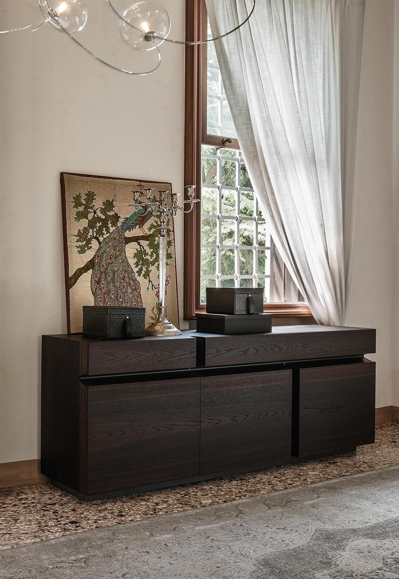 Prisma | Sideboards | Iq Furniture with Black Burnt Oak Sideboards (Image 18 of 30)
