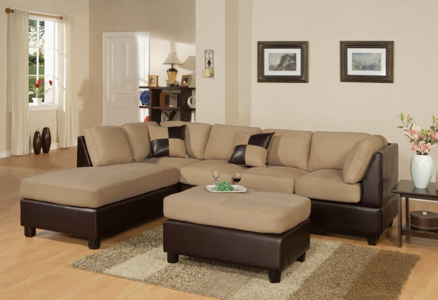 Product Reviews | Buy Chelsea Home Furniture Cupertino 3-Piece regarding Karen 3 Piece Sectionals (Image 19 of 30)