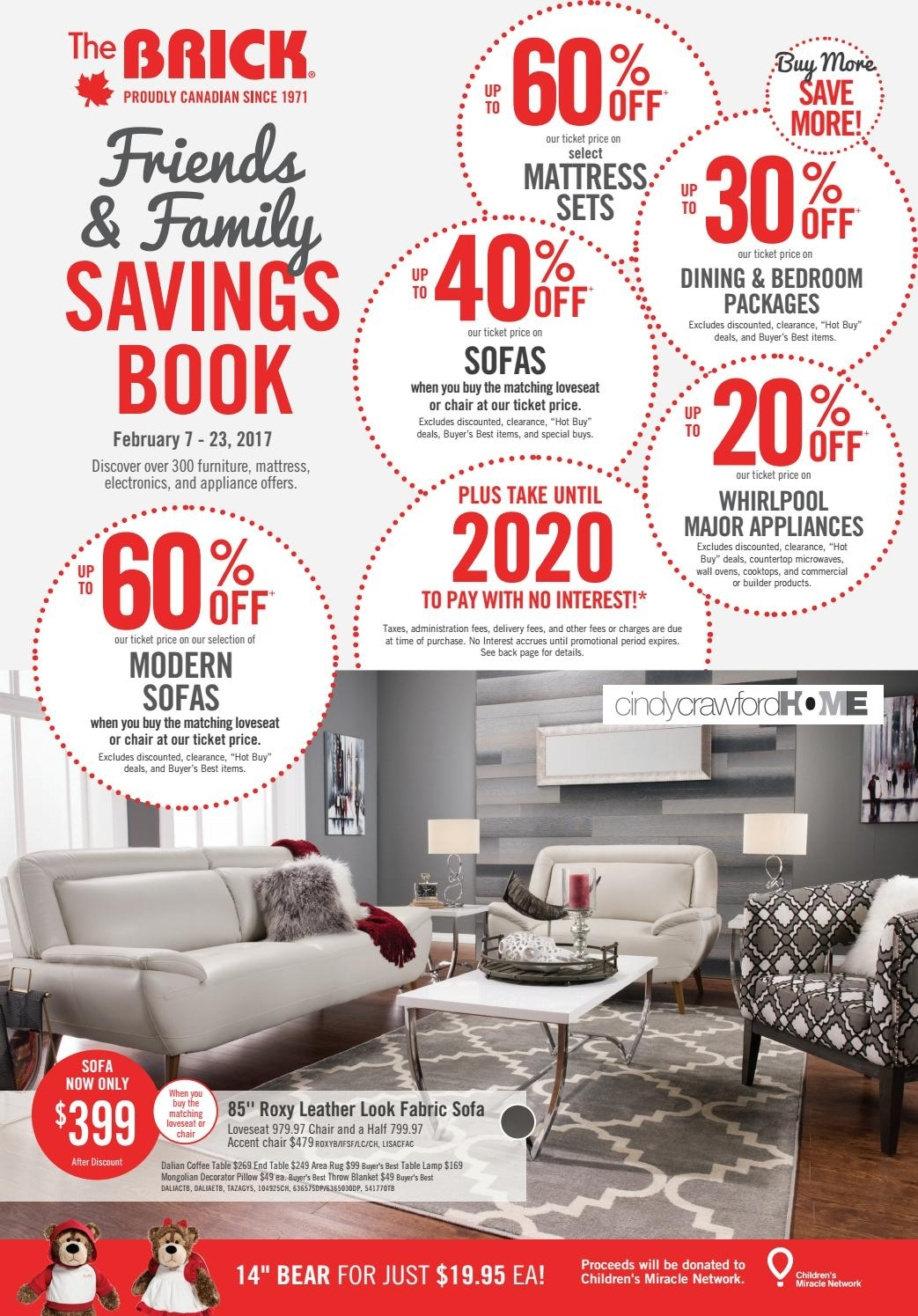 Publisac 2017 Flyer (Brick_Wk7_Queen)Salewhale   Issuu For London Optical Reversible Sofa Chaise Sectionals (Photo 18 of 30)