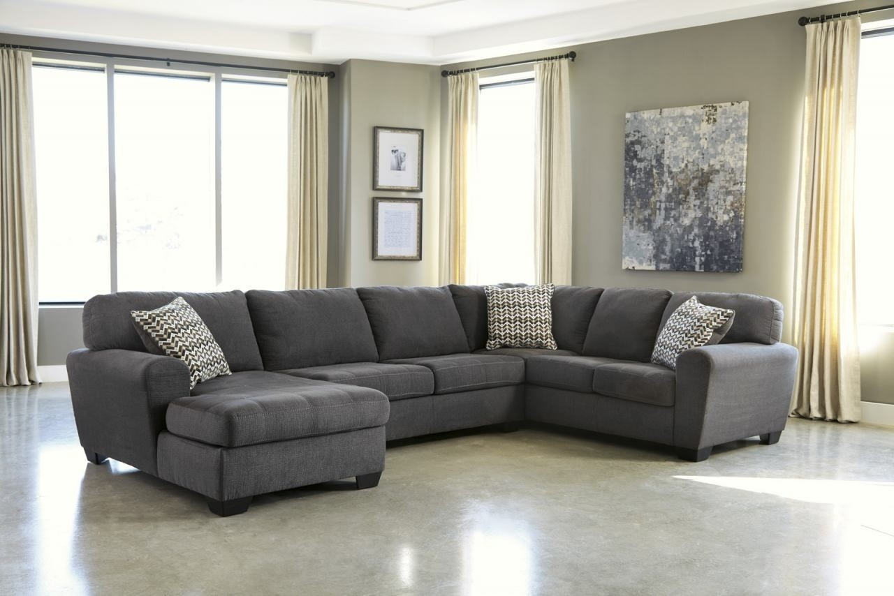 Raf Sectional Turdur 3 Piece W Loveseat Living Spaces 223462 0 Jpg pertaining to Turdur 2 Piece Sectionals With Laf Loveseat (Image 23 of 30)