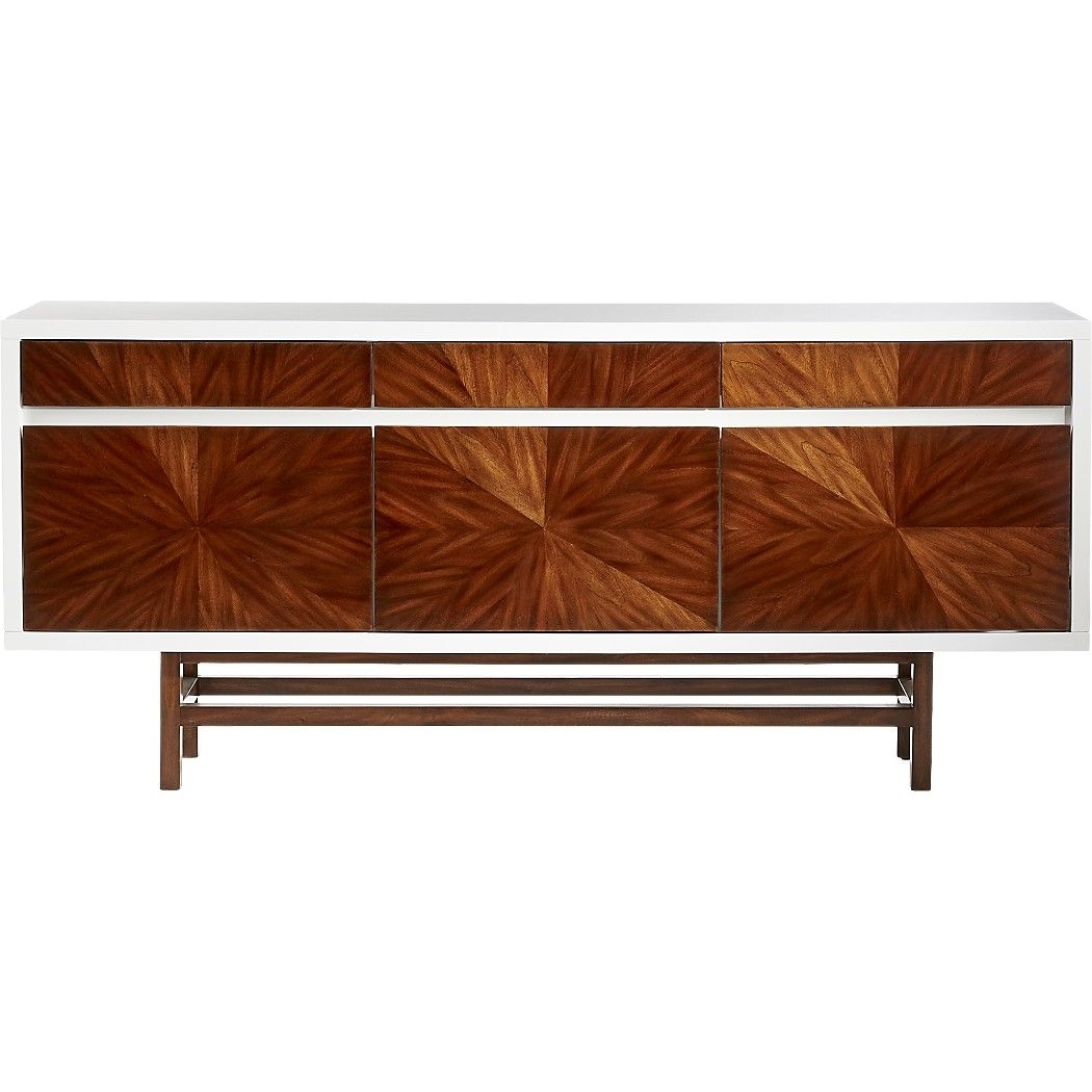 Ray Marquetry Credenza | Beach House | Pinterest | Credenza, Drawers intended for Ironwood 4-Door Sideboards (Image 23 of 30)