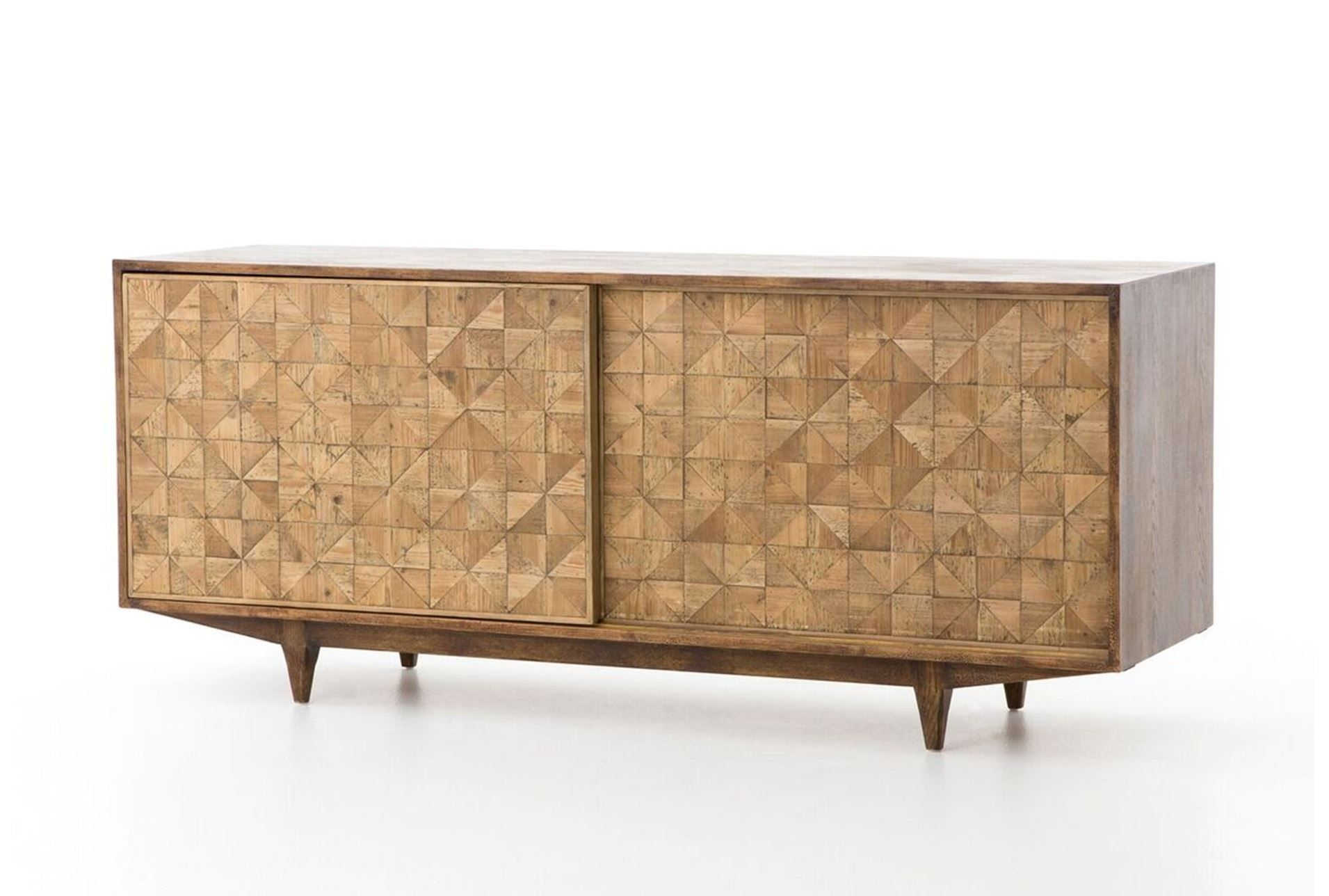 Featured Photo of Light Brown Reclaimed Elm & Pine 84 Inch Sideboards