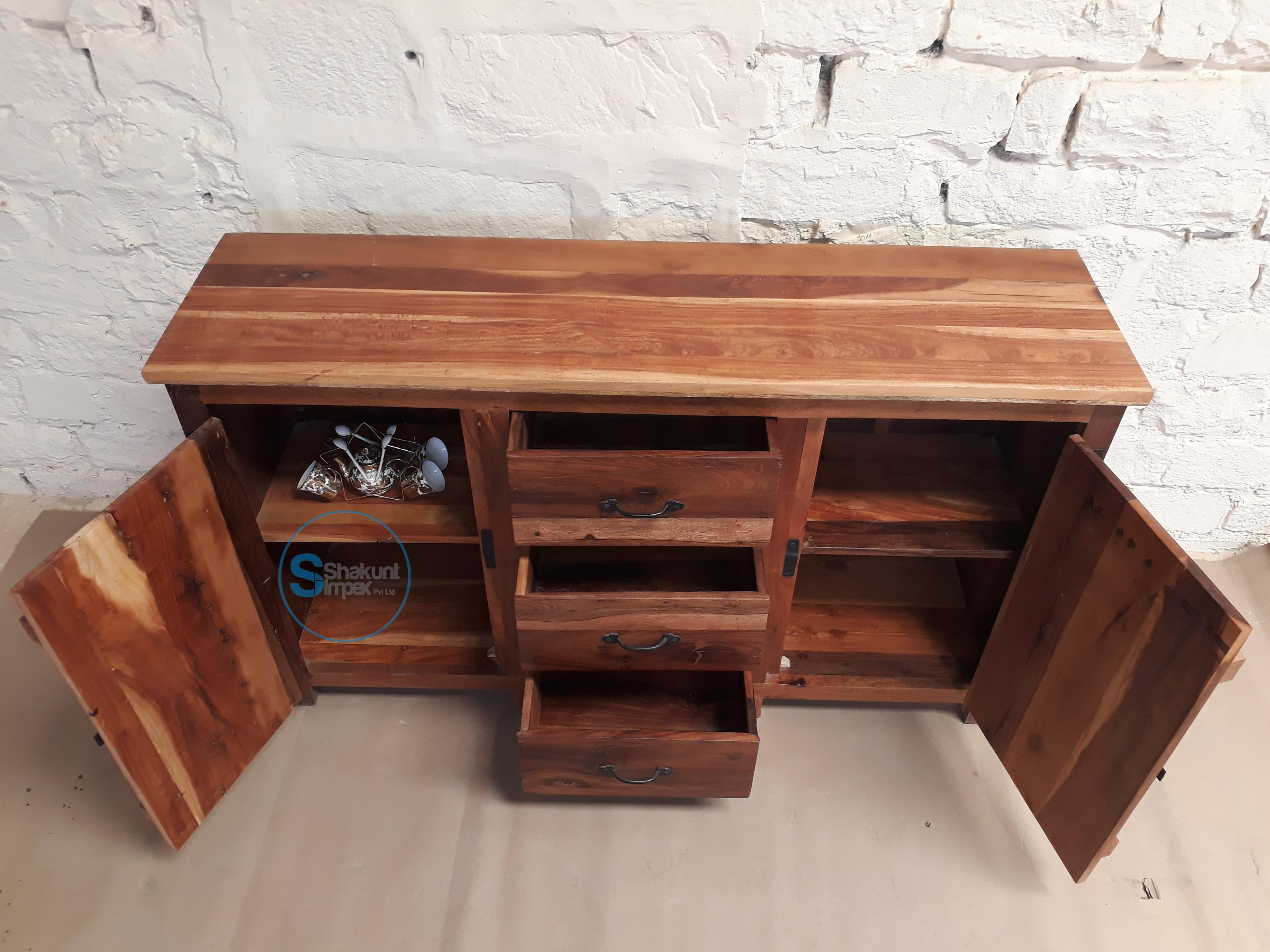 Reclaimed Wood Furniture Archives - Shakunt Vintage Furniture with regard to Metal Framed Reclaimed Wood Sideboards (Image 22 of 30)