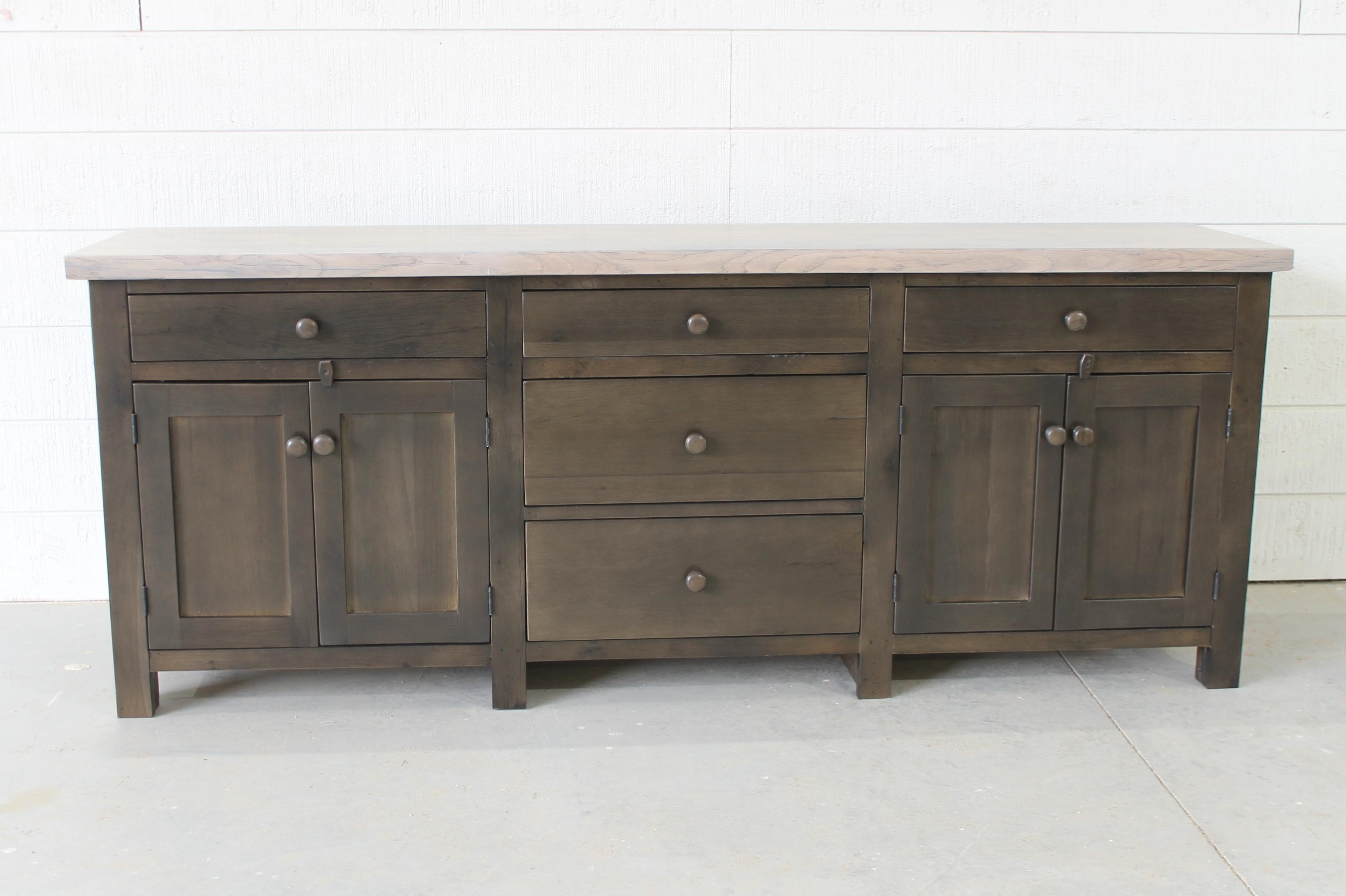 Reclaimed Wood Modern Sideboard (View 25 of 30)