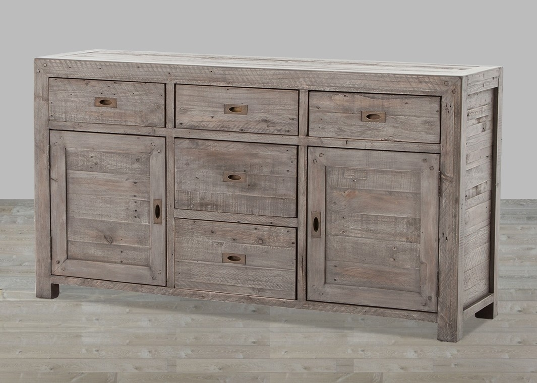 Reclaimed Wood Sideboard From Wine Cabinet — Rocket Uncle Rocket Uncle inside Reclaimed 3 Drawer Icebox Sideboards (Image 16 of 30)
