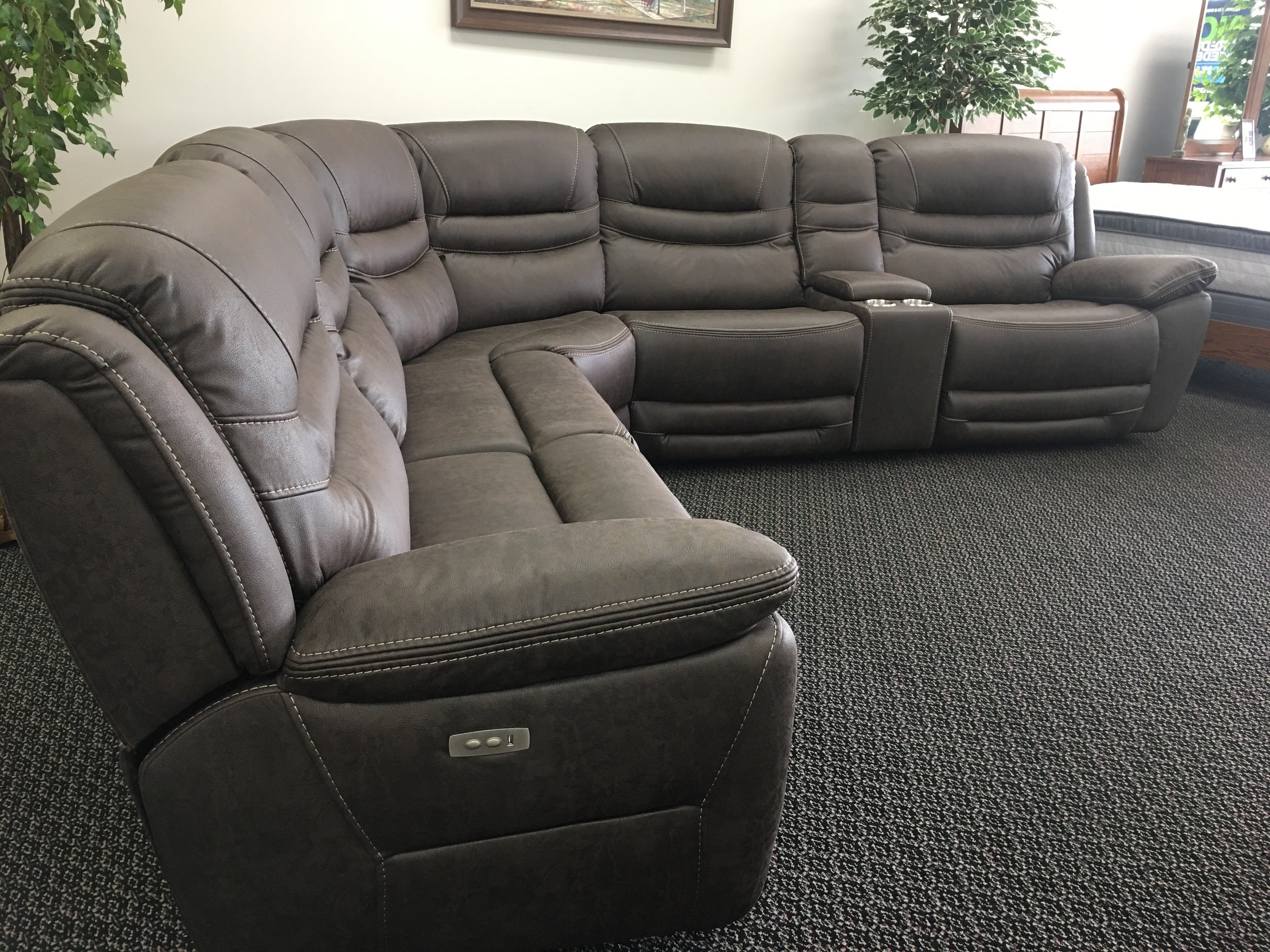 Recliner Sectional - Locsbyhelenelorasa intended for Denali Light Grey 6 Piece Reclining Sectionals With 2 Power Headrests (Image 28 of 30)
