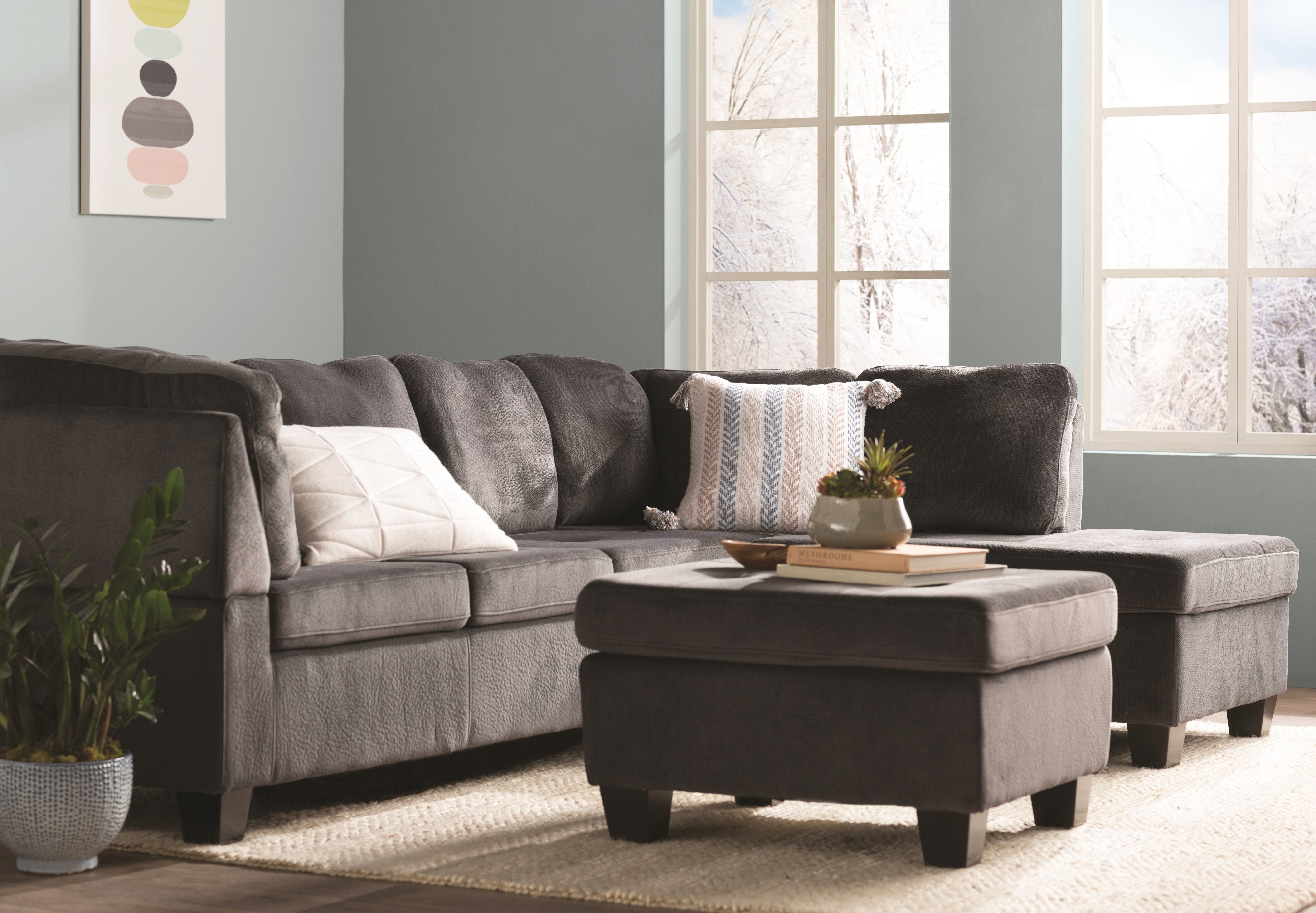 Red Barrel Studio Hardin Sectional With Ottoman & Reviews | Wayfair with regard to Harper Down 3 Piece Sectionals (Image 21 of 30)