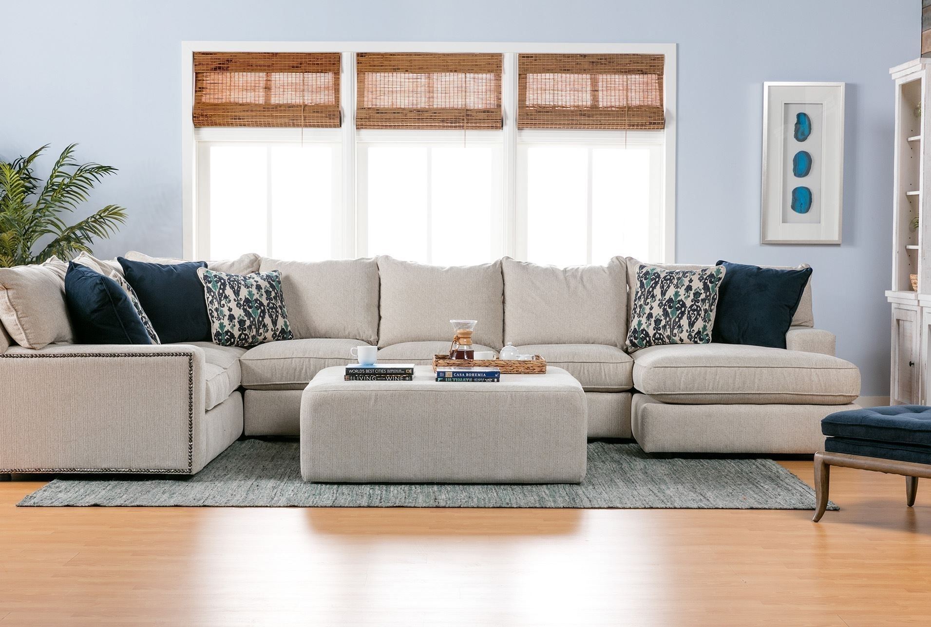 Rennell 3 Piece Sectional W/raf Chaise | Living Room | Pinterest for Haven 3 Piece Sectionals (Image 25 of 32)