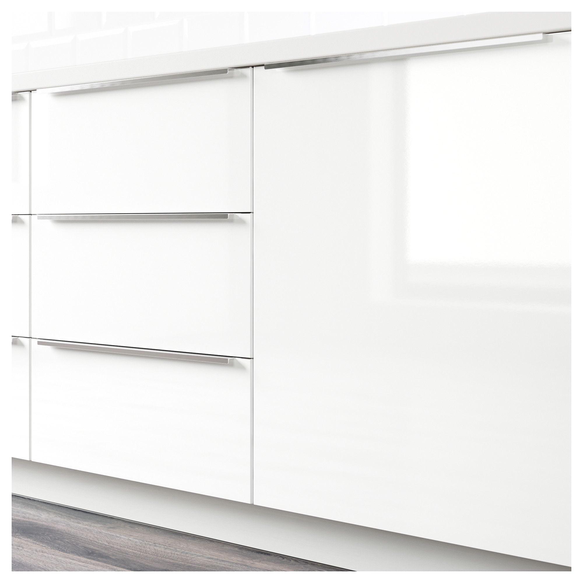 Ringhult 2-P Door/corner Base Cabinet Set, High Gloss White | Home for Magnolia Home Dylan Sideboards by Joanna Gaines (Image 27 of 30)