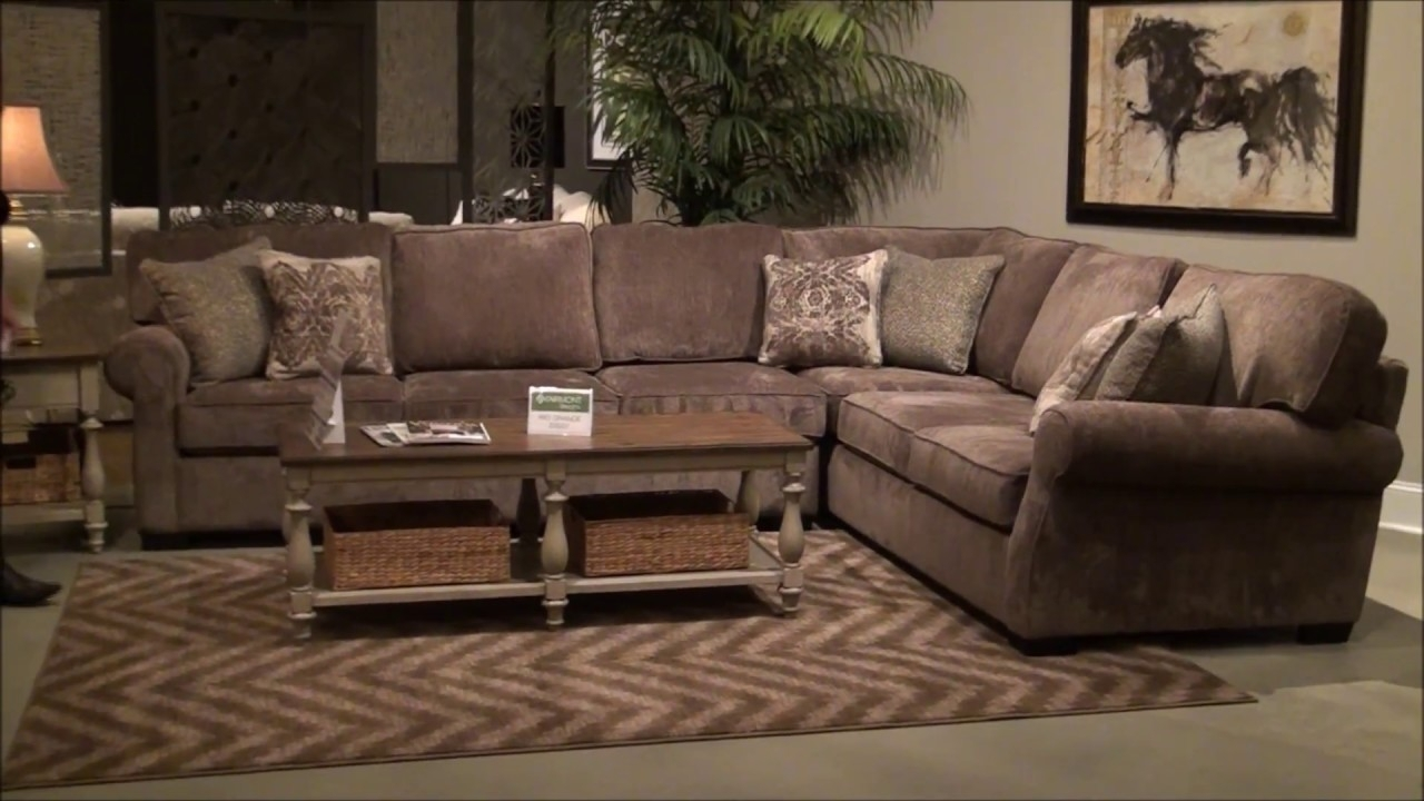 Rio Grande Sectional Sofafairmont Designs - Youtube in Elm Grande Ii 2 Piece Sectionals (Image 25 of 30)