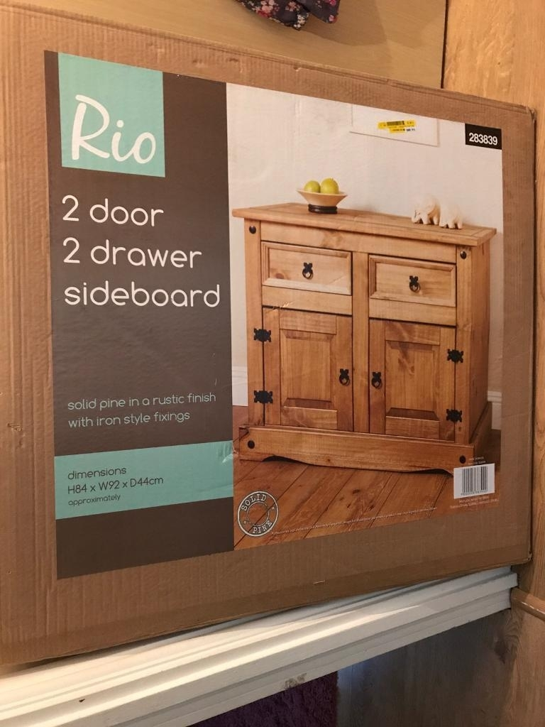 Rio Solid Pine Sideboard Brand New | In Chelmsford, Essex | Gumtree intended for Iron Pine Sideboards (Image 20 of 30)
