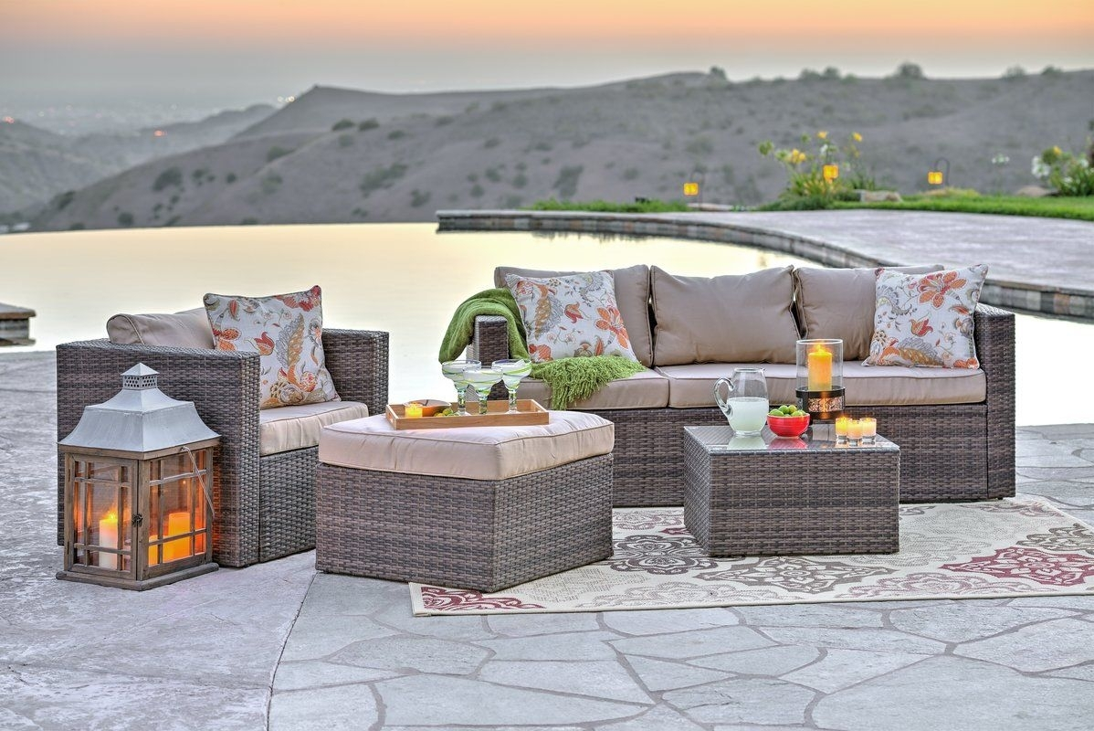 Rister 4 Piece Sectional Set With Cushions pertaining to Benton 4 Piece Sectionals (Image 22 of 30)