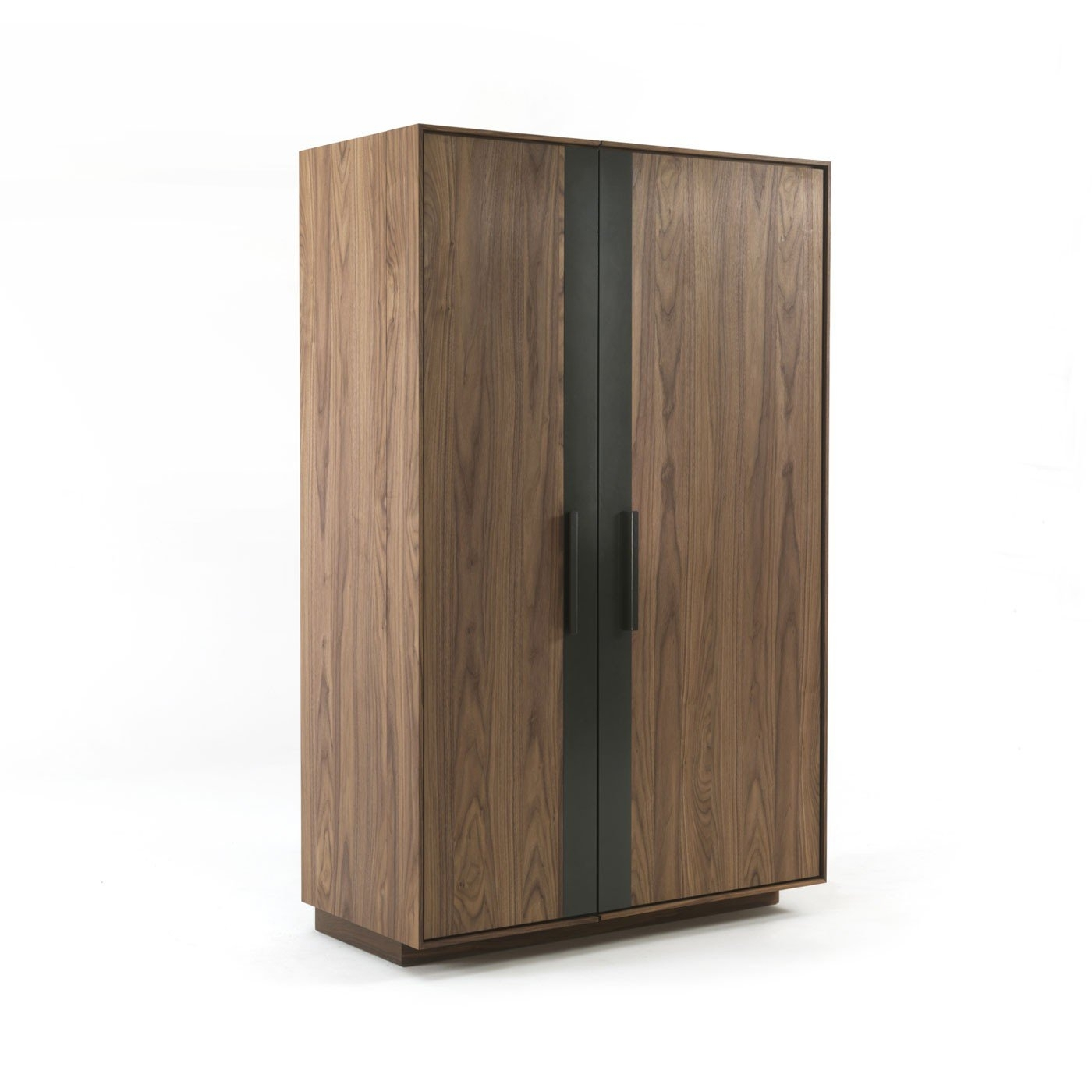 Riva 1920 Cambusa Wine Cabinet Walnut | Heal's in Charcoal Finish 4-Door Jumbo Sideboards (Image 25 of 30)