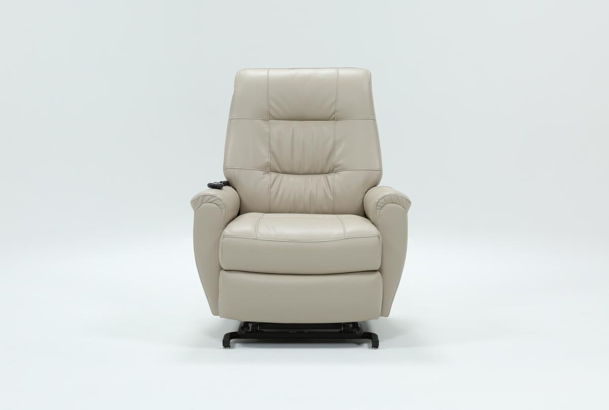 Rogan Power-Lift Recliner | Living Spaces regarding Whitley 3 Piece Sectionals By Nate Berkus And Jeremiah Brent (Image 30 of 32)