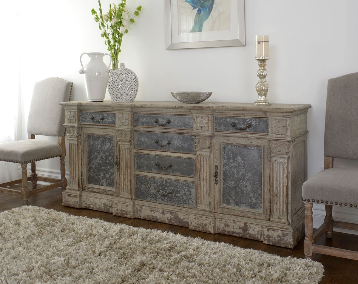Rustic, Reclaimed And Relaxed Newmar Sideboard At Star Furniture In within Reclaimed Sideboards With Metal Panel (Image 17 of 30)