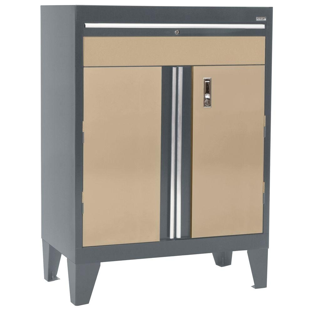 Featured Photo of Charcoal Finish 4 Door Jumbo Sideboards