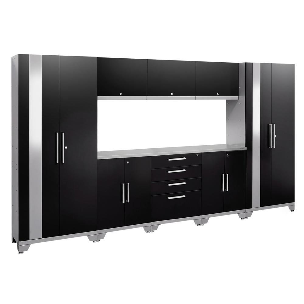 Sandusky 72 In. H X 46 In. W X 24 In. D Steel Modular Freestanding inside Charcoal Finish 4-Door Jumbo Sideboards (Image 27 of 30)