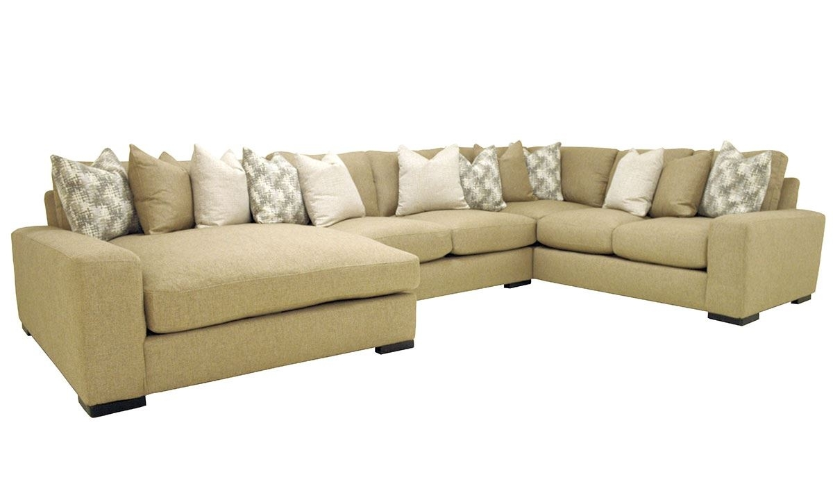 Sawyer 3-Pc Sectional Sofa With Oversized Chaise | The Dump Luxe with regard to Norfolk Grey 3 Piece Sectionals With Laf Chaise (Image 26 of 30)