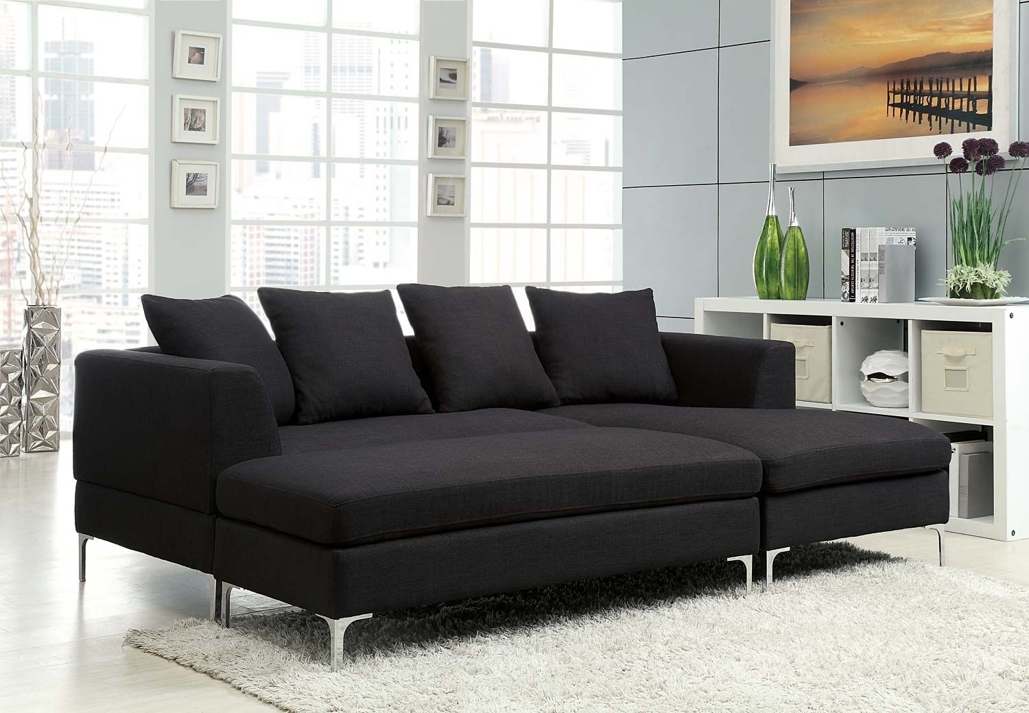 Sears Burton Sectional Sofa | Acrylics | Pinterest inside Burton Leather 3 Piece Sectionals (Image 19 of 30)