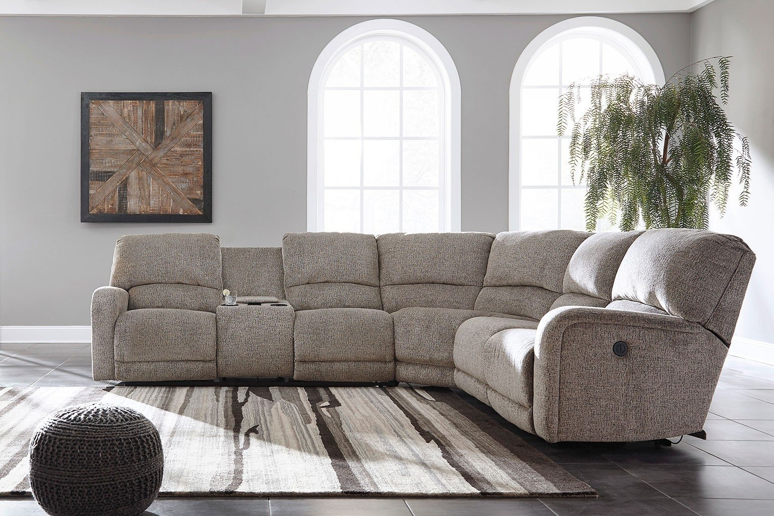 Sectional Loveseat - Tidex for Declan 3 Piece Power Reclining Sectionals With Right Facing Console Loveseat (Image 26 of 30)