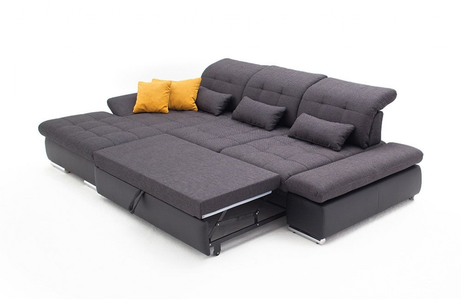 Sectional Sleeper Sofas – Home Decor 88 in Aspen 2 Piece Sectionals With Laf Chaise (Image 26 of 30)