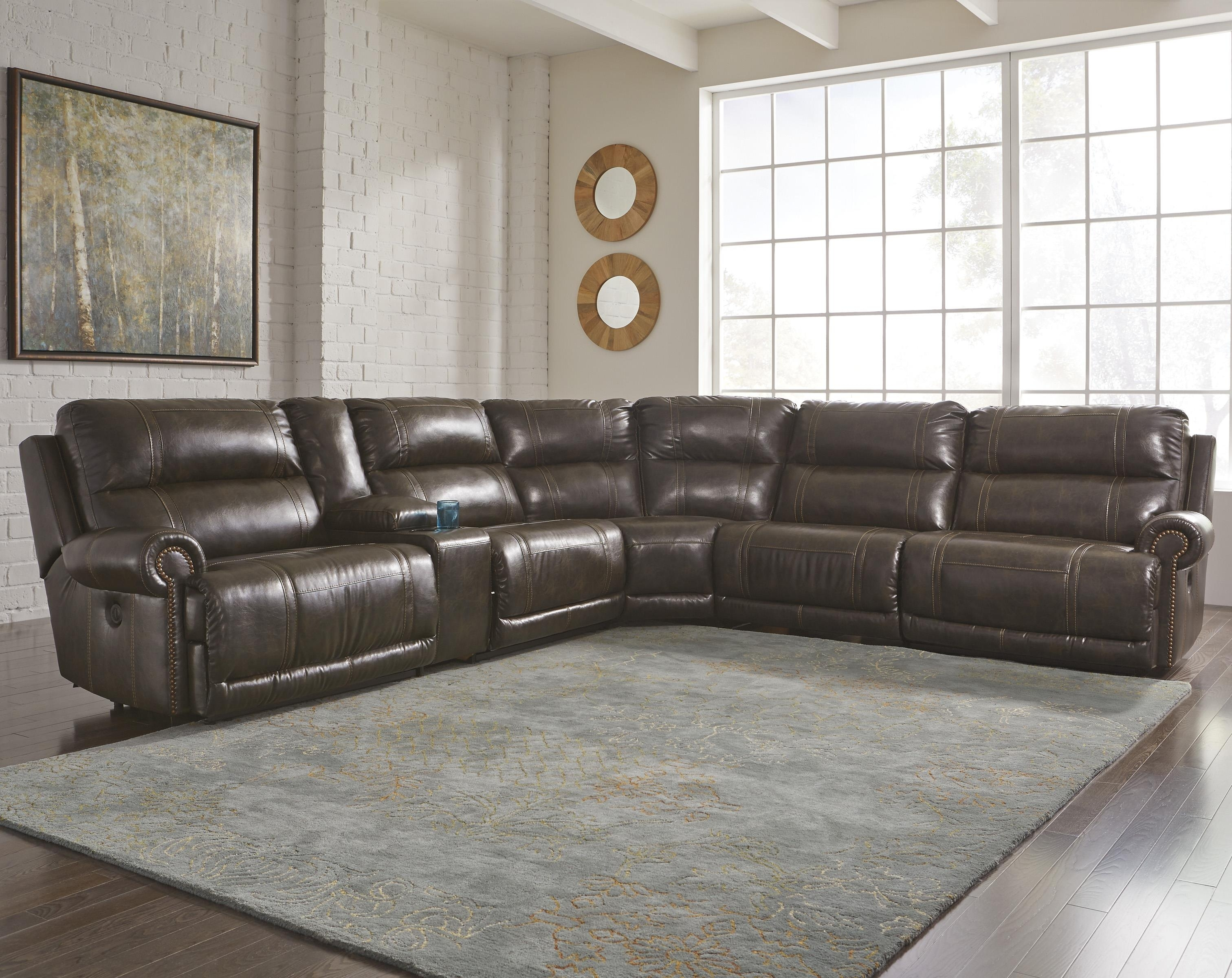 Sectional Sofa With Recliner Sectionals Recliners And Sleepers pertaining to Glamour Ii 3 Piece Sectionals (Image 22 of 30)