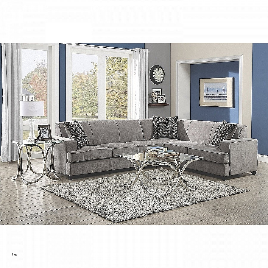 Sectional Sofas. Inspirational Light Grey Sectional Sofa: Light Grey inside Aquarius Light Grey 2 Piece Sectionals With Laf Chaise (Image 22 of 30)