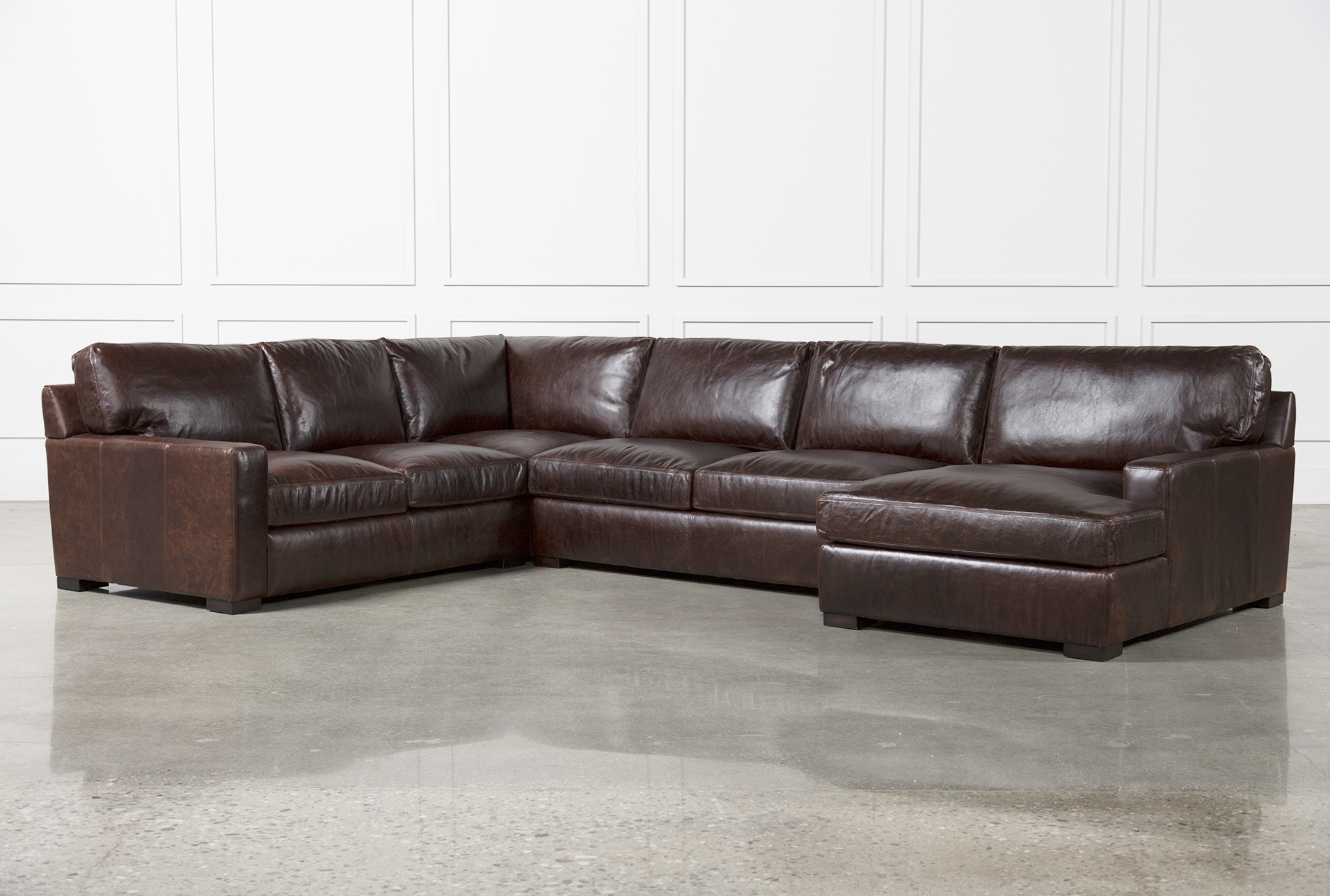 Sectional Sofas Living Spaces within Evan 2 Piece Sectionals With Raf Chaise (Image 26 of 30)