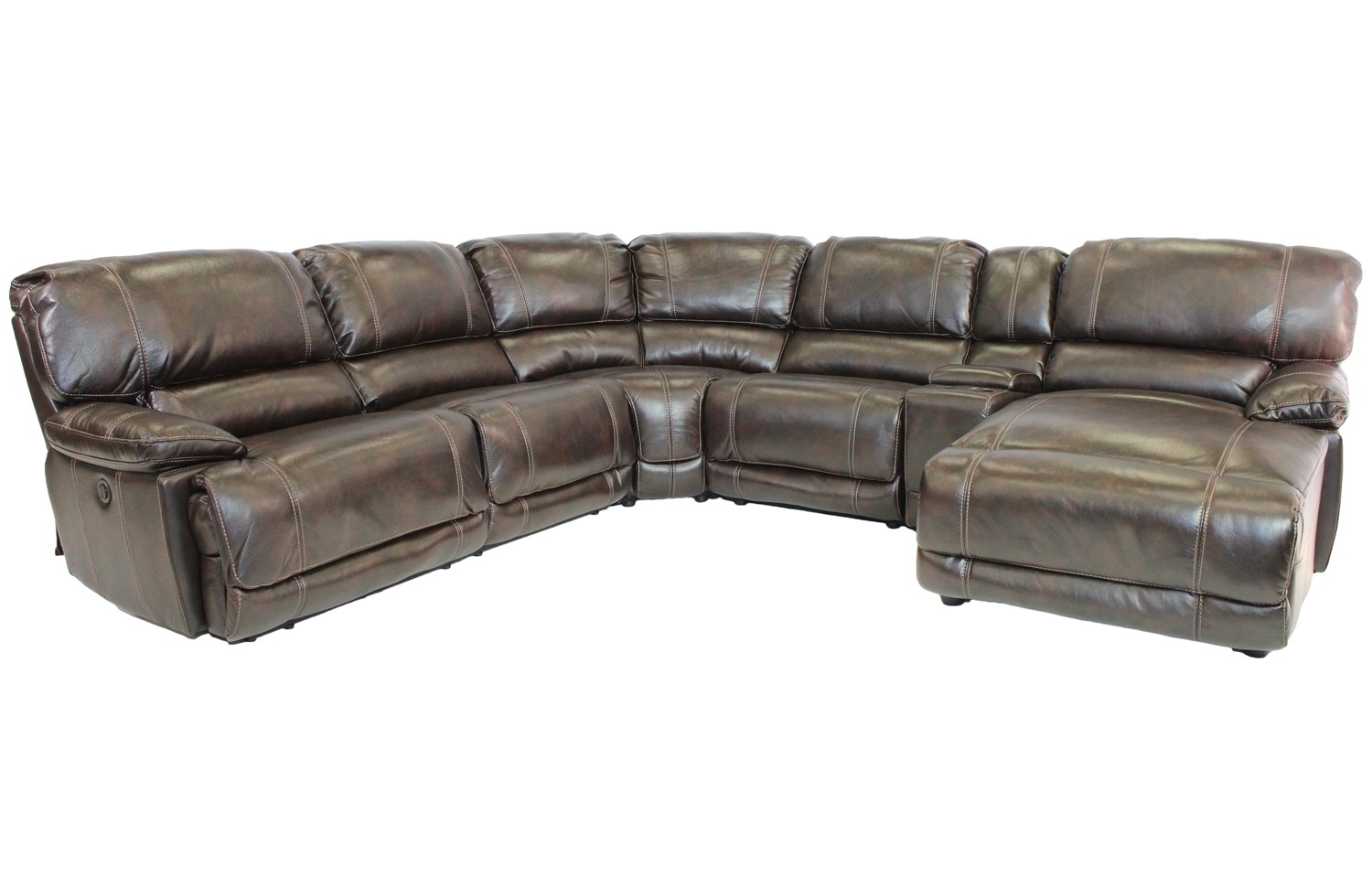 Sectional Sofas | Save Mor Online And In-Store intended for Marcus Chocolate 6 Piece Sectionals With Power Headrest And Usb (Image 20 of 30)