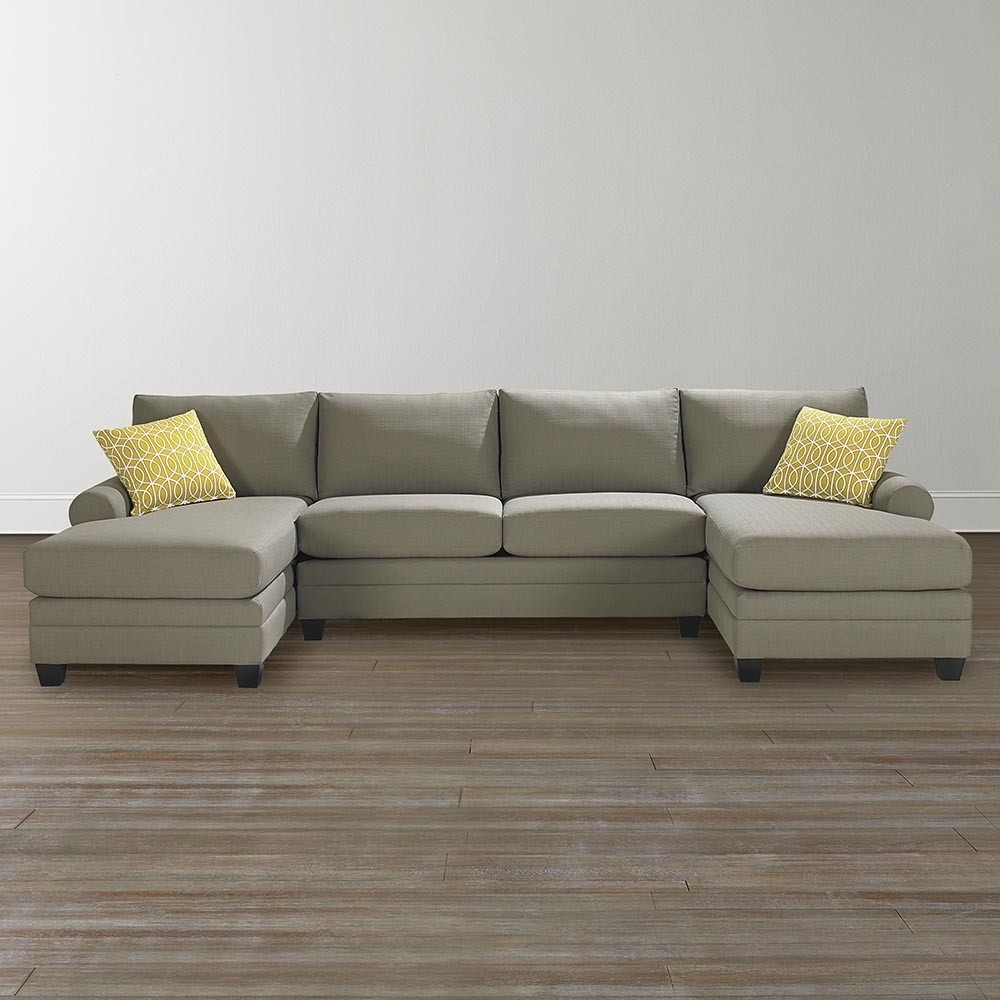 Sectional With 2 Chaises - Implantologiabogota.co in Tenny Cognac 2 Piece Right Facing Chaise Sectionals With 2 Headrest (Image 20 of 30)