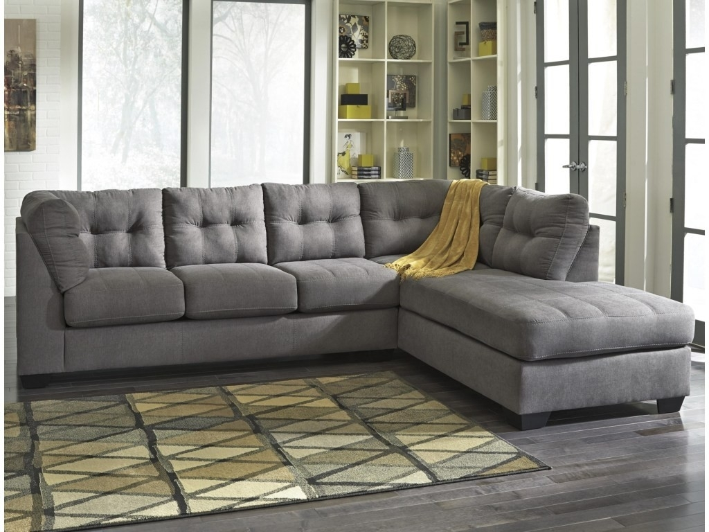 Sectional With 2 Chaises - Implantologiabogota.co within Tenny Dark Grey 2 Piece Right Facing Chaise Sectionals With 2 Headrest (Image 24 of 30)
