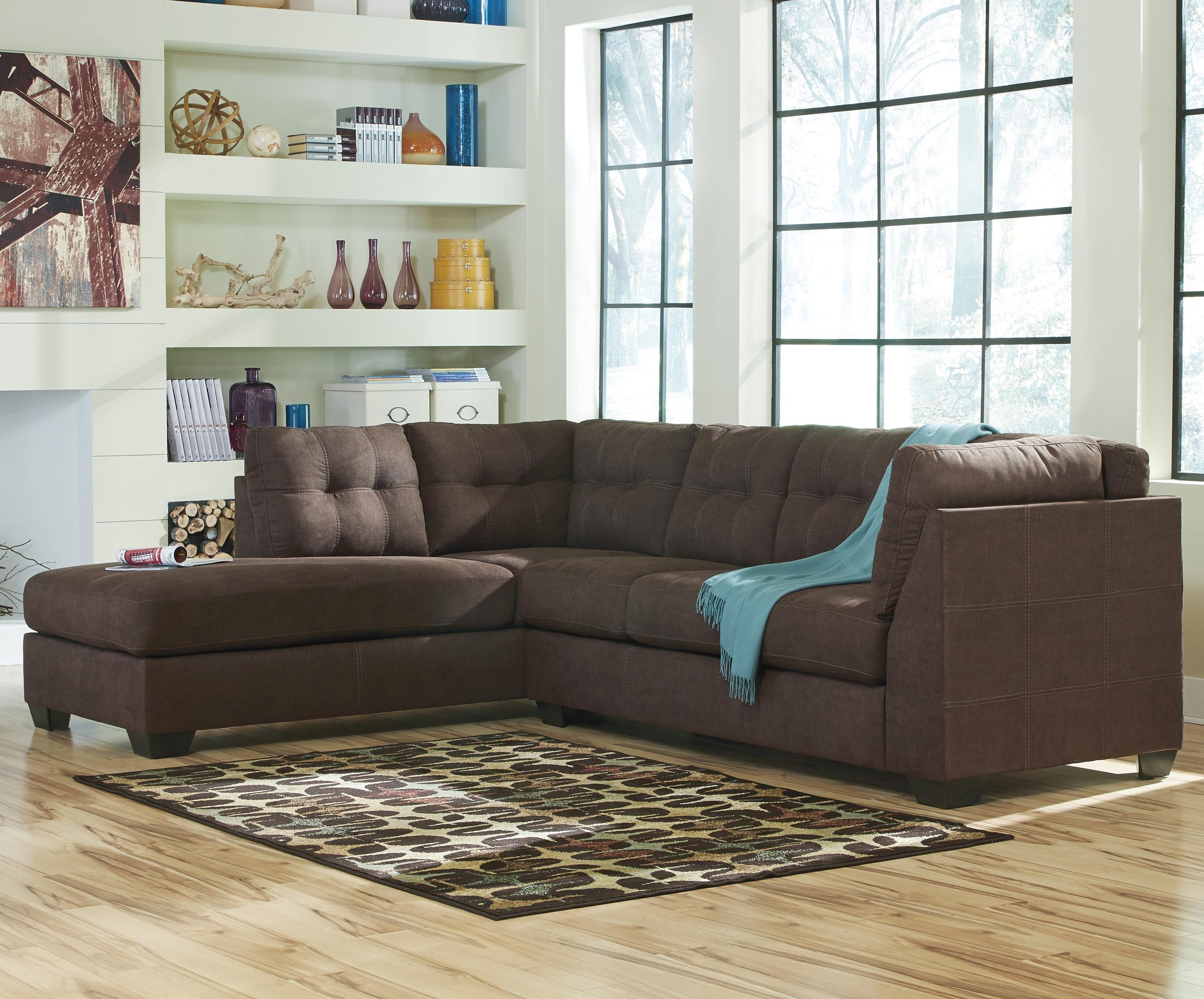 Sectional With 2 Chaises - Tidex pertaining to Tenny Cognac 2 Piece Right Facing Chaise Sectionals With 2 Headrest (Image 22 of 30)