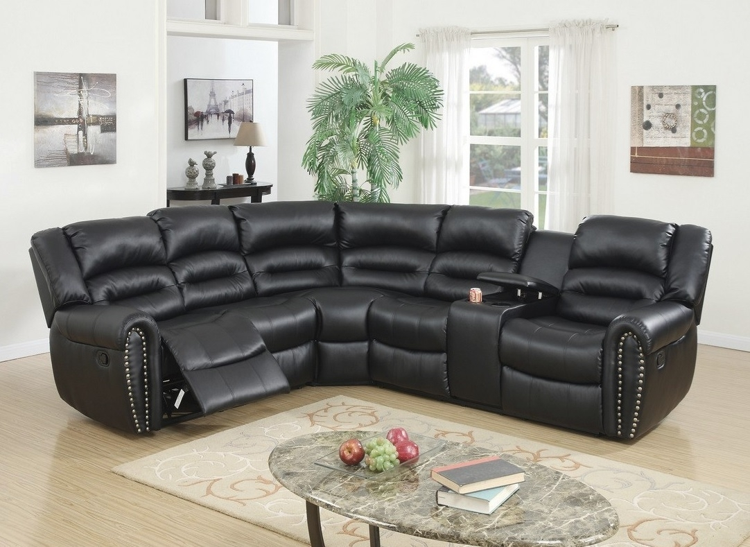 Sectional With 2 Recliners F6743 - Casye Furniturecasye Furniture with regard to Tess 2 Piece Power Reclining Sectionals With Laf Chaise (Image 14 of 30)