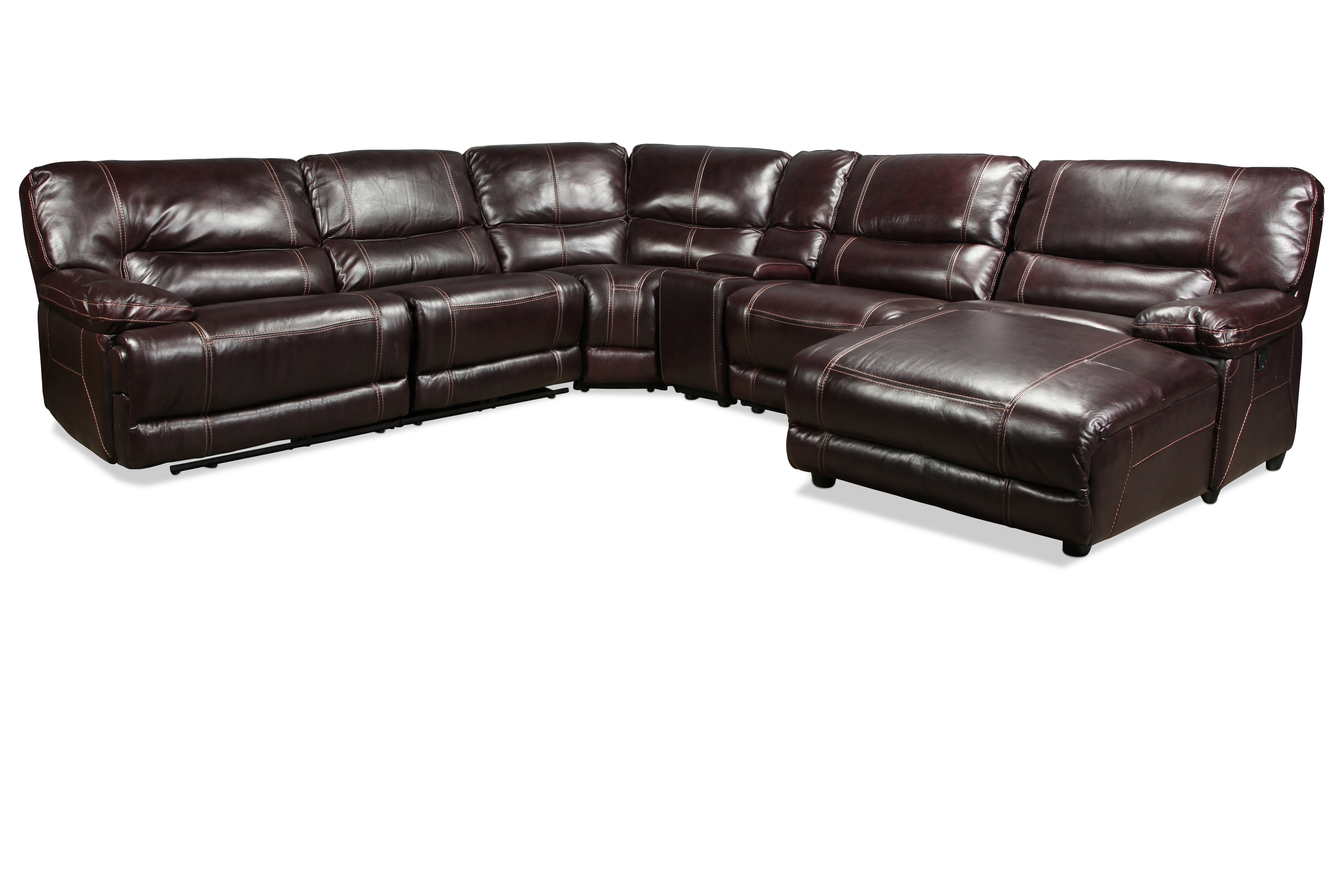 Sectionals | Levin Furniture with Jackson 6 Piece Power Reclining Sectionals (Image 26 of 30)