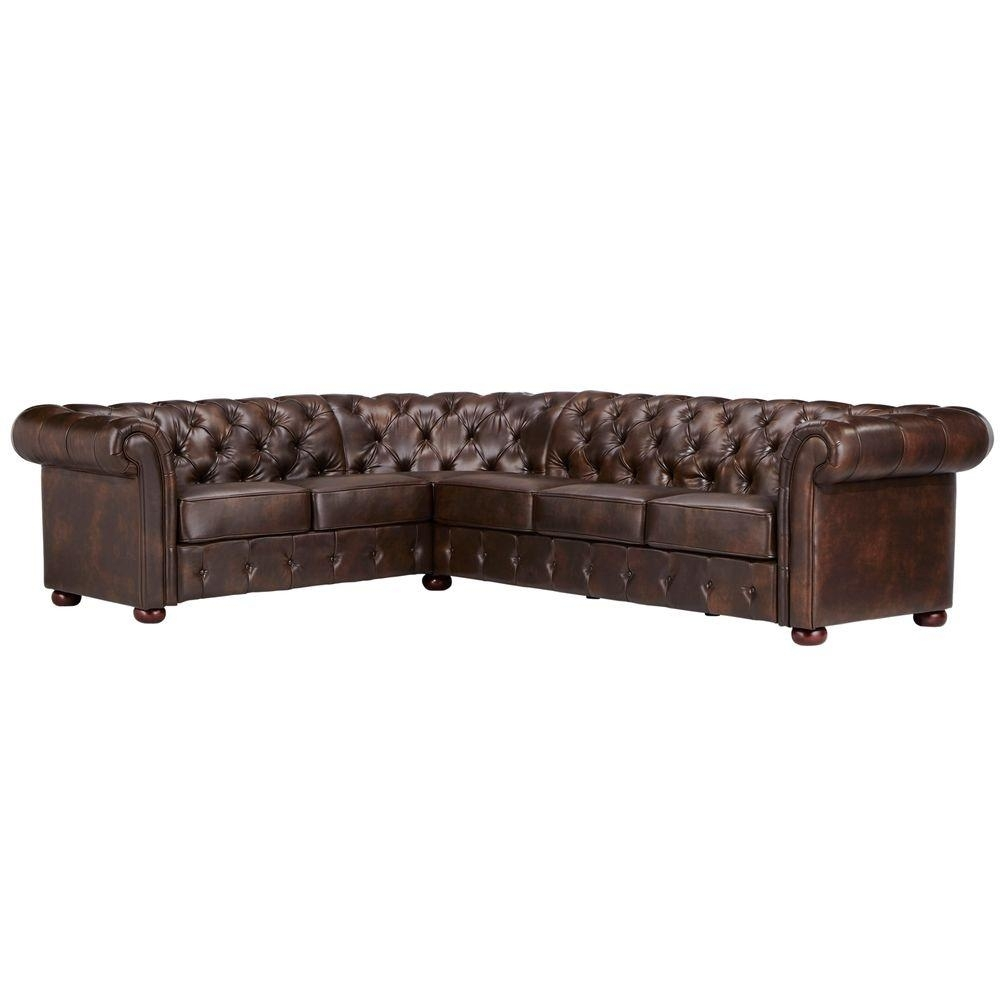 Sectionals - Living Room Furniture - The Home Depot pertaining to Mesa Foam 2 Piece Sectionals (Image 25 of 30)