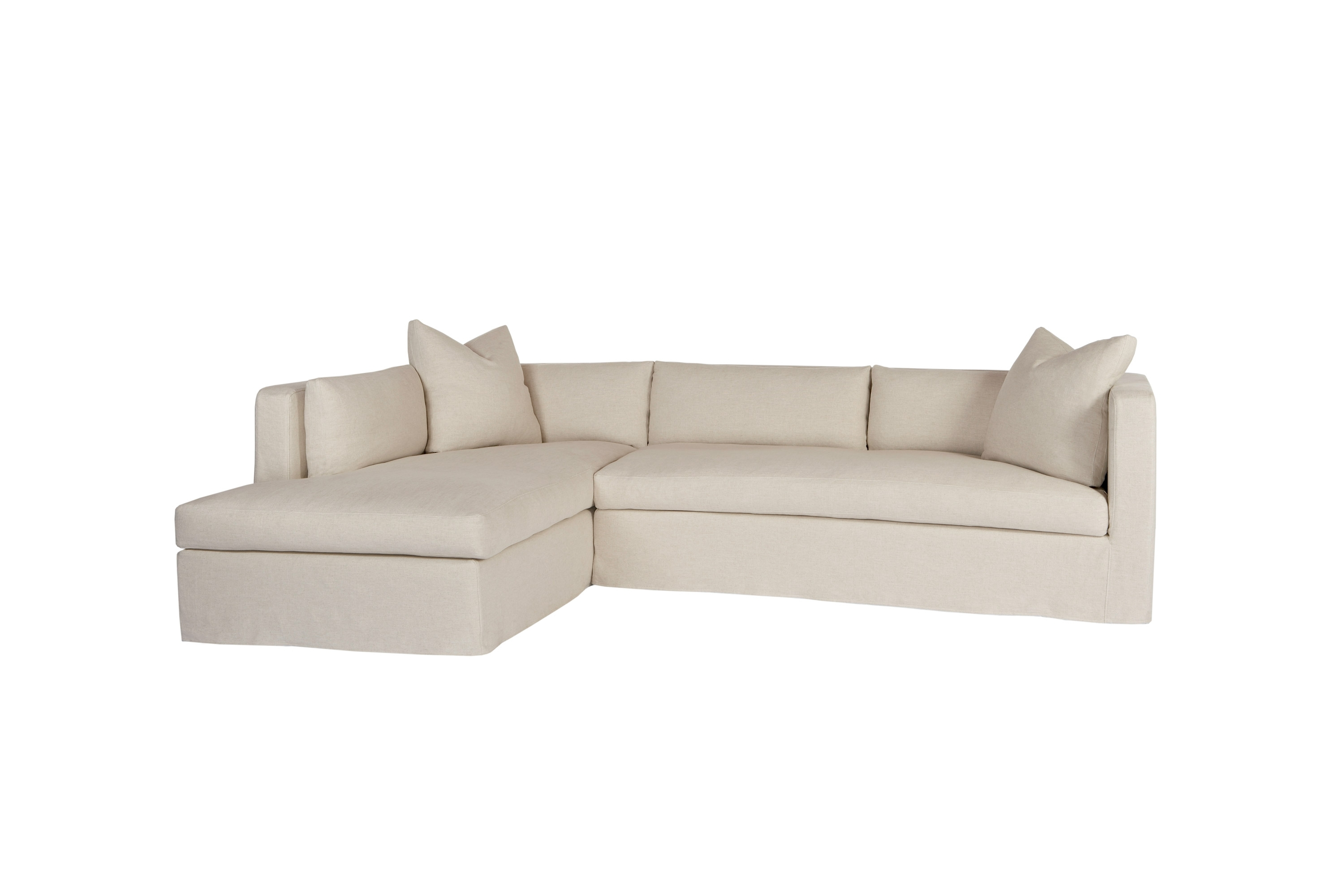 Sectionals regarding Jobs Oat 2 Piece Sectionals With Left Facing Chaise (Image 25 of 30)