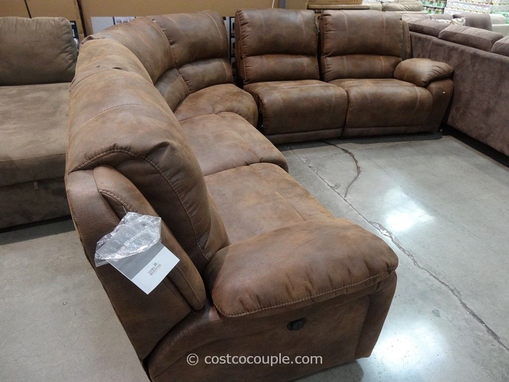 Sectionals Sofas Costco | Home Decoration Club with Burton Leather 3 Piece Sectionals (Image 24 of 30)
