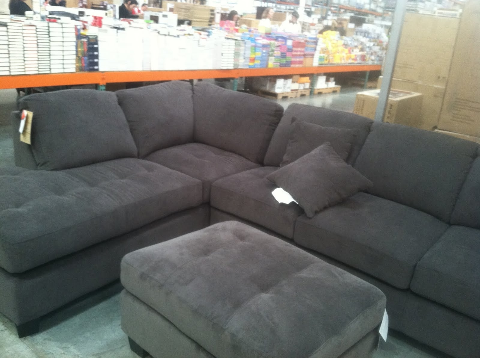 Sectionals Sofas Costco | Home Decoration Club with regard to Norfolk Grey 6 Piece Sectionals (Image 25 of 30)