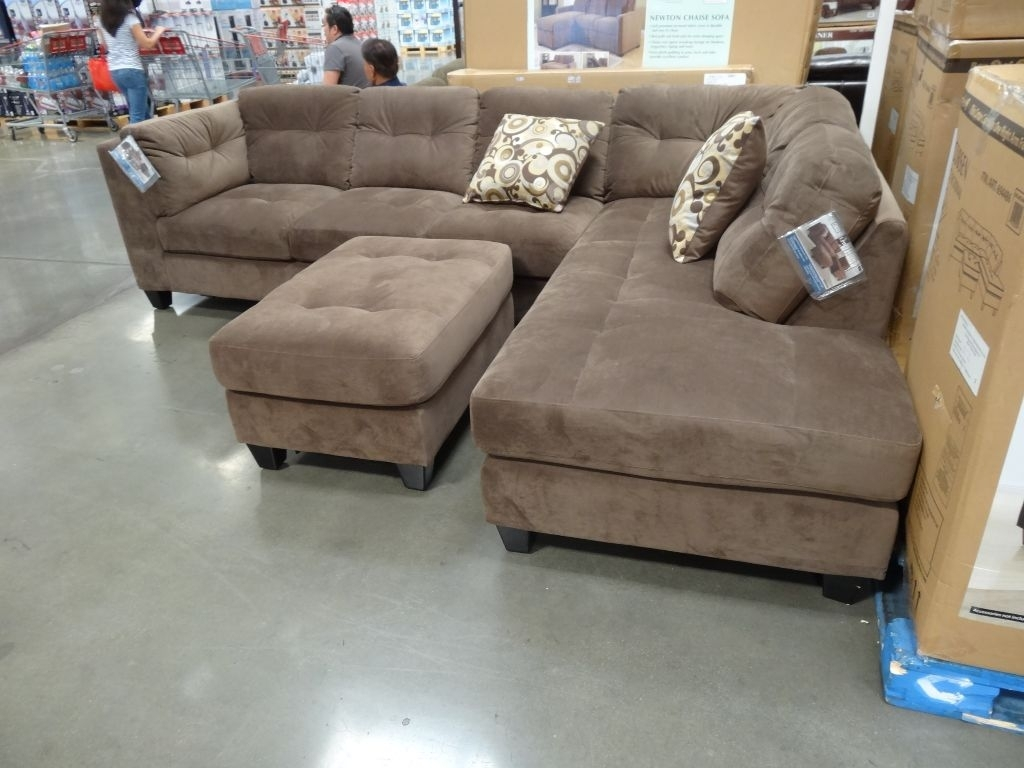 Sectionals Sofas Costco | Home Decoration Club within Burton Leather 3 Piece Sectionals With Ottoman (Image 23 of 30)