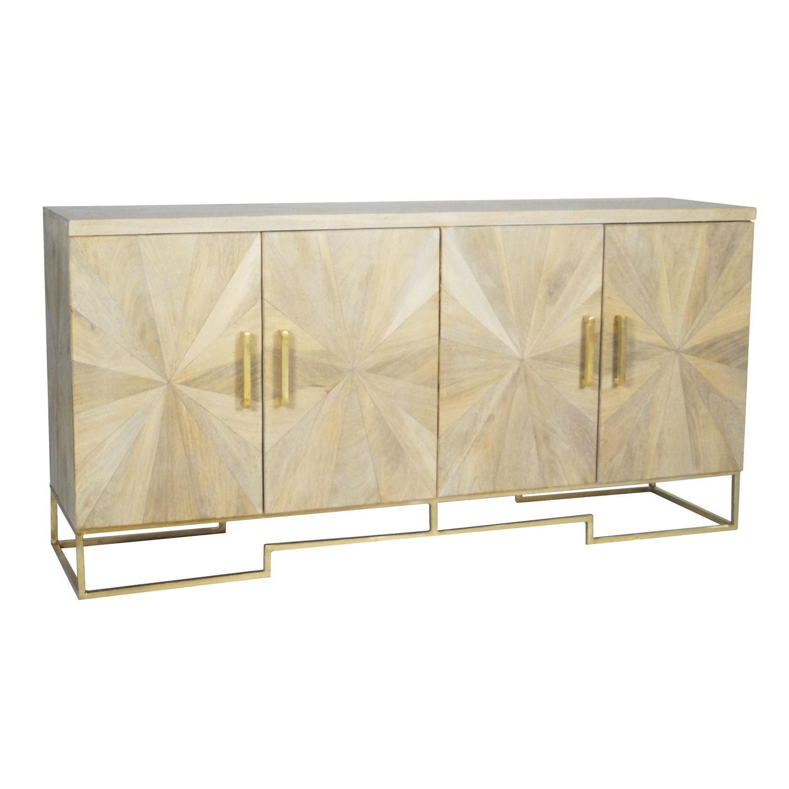 Selamat Designs Justinian Starburst Credenza | Project: Financial intended for Starburst 3 Door Sideboards (Image 22 of 30)