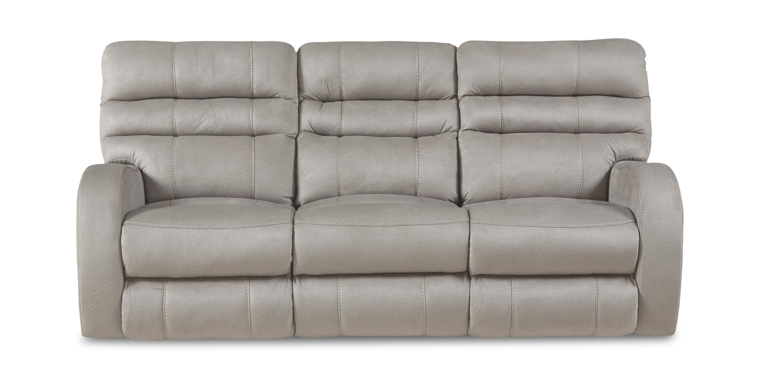 Selkey Power Reclining Sofa | Hom Furniture regarding Travis Dk Grey Leather 6 Piece Power Reclining Sectionals With Power Headrest & Usb (Image 20 of 30)