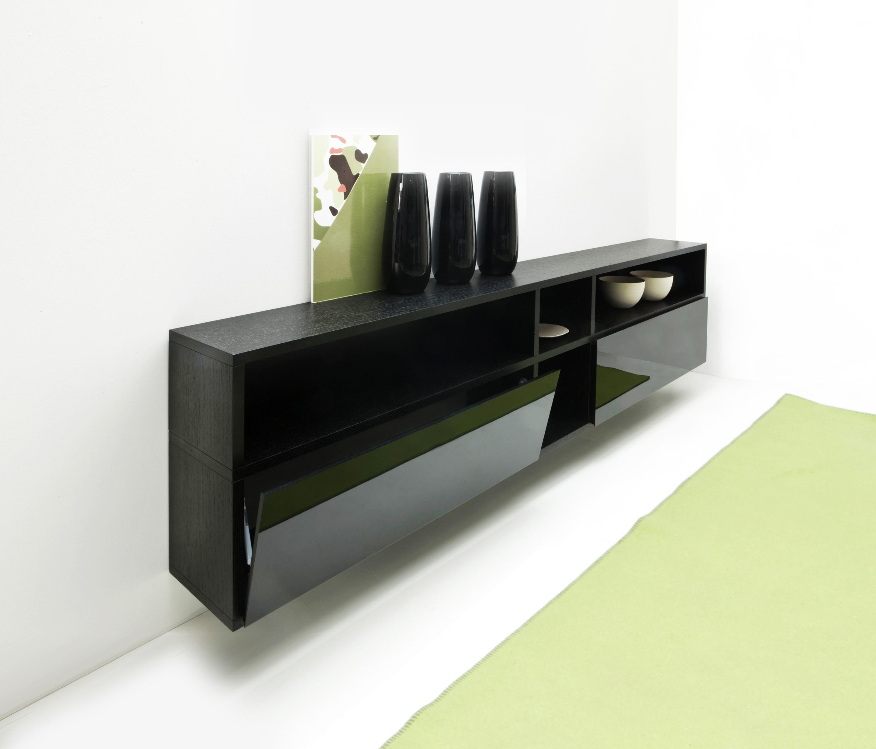 Set System Sideboard – Sideboards From Former | Architonic With Cass 2 Door Sideboards (View 18 of 30)