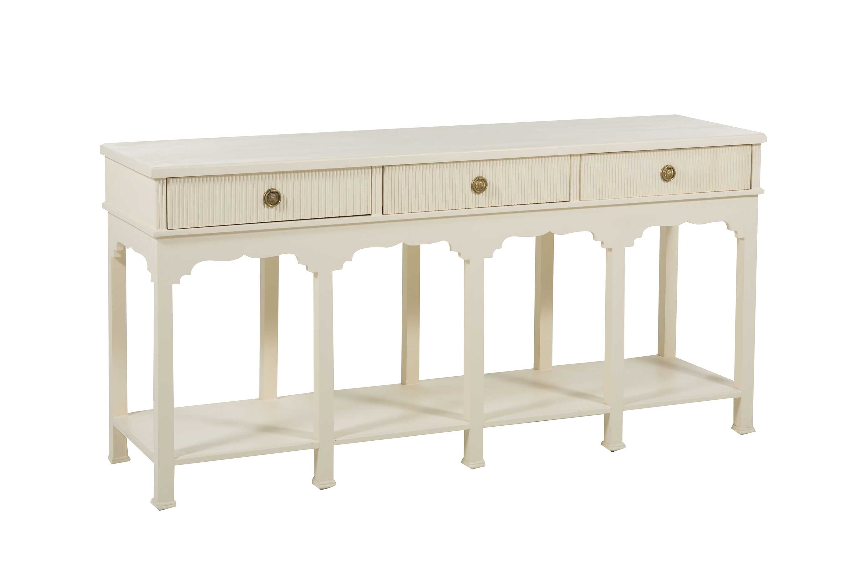 Shea Sideboard - Gabby intended for Open Shelf Brass 4-Drawer Sideboards (Image 17 of 30)