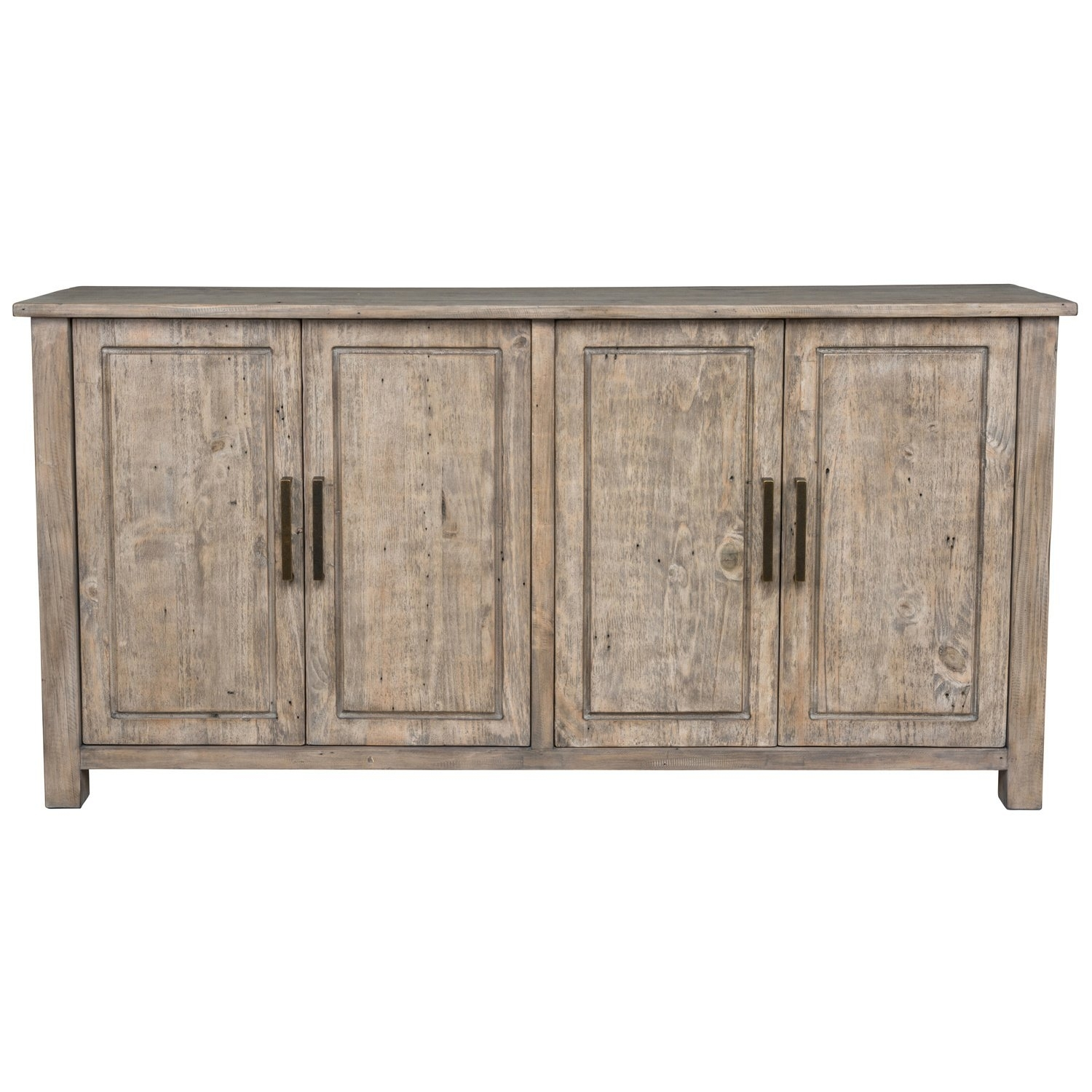 Shop Aires Reclaimed Wood 72-Inch Sideboardkosas Home - Free in Reclaimed Pine Turquoise 4-Door Sideboards (Image 20 of 30)