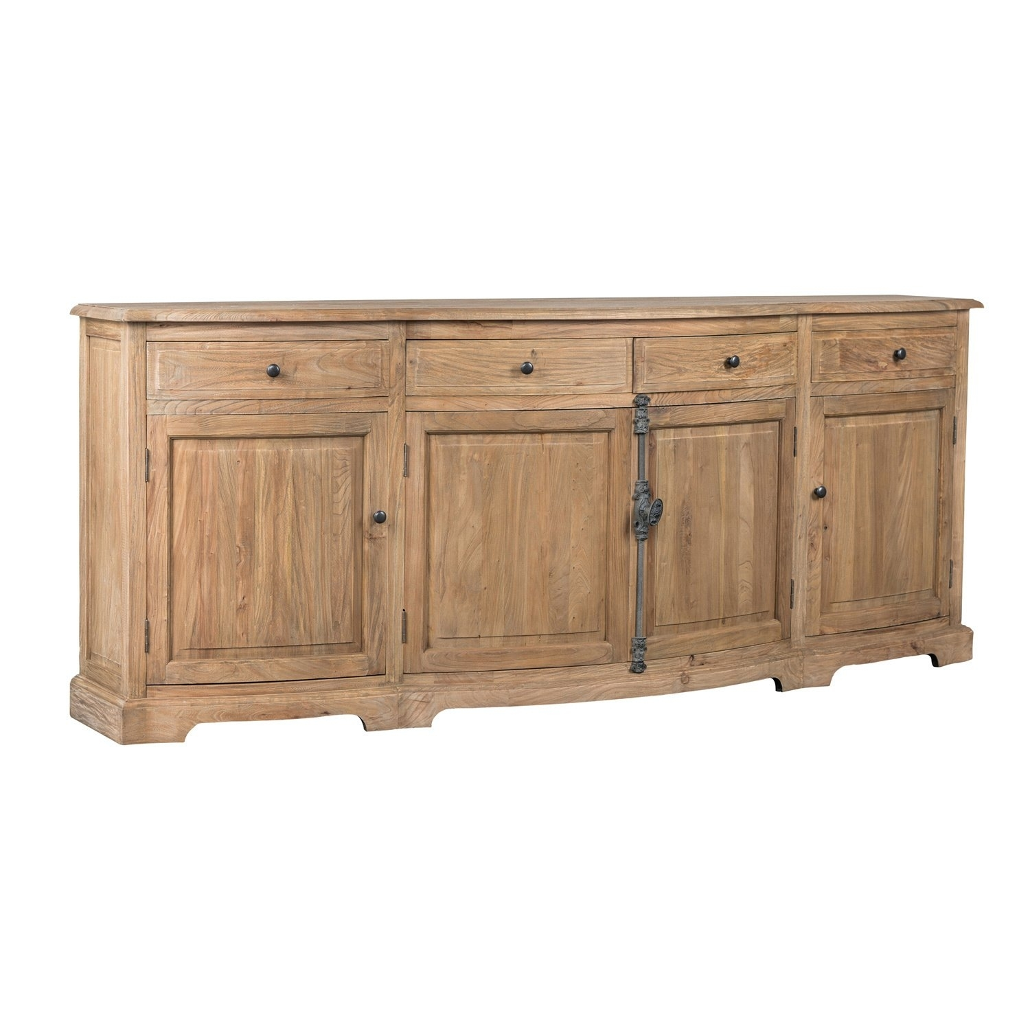 Featured Photo of Natural Oak Wood 78 Inch Sideboards
