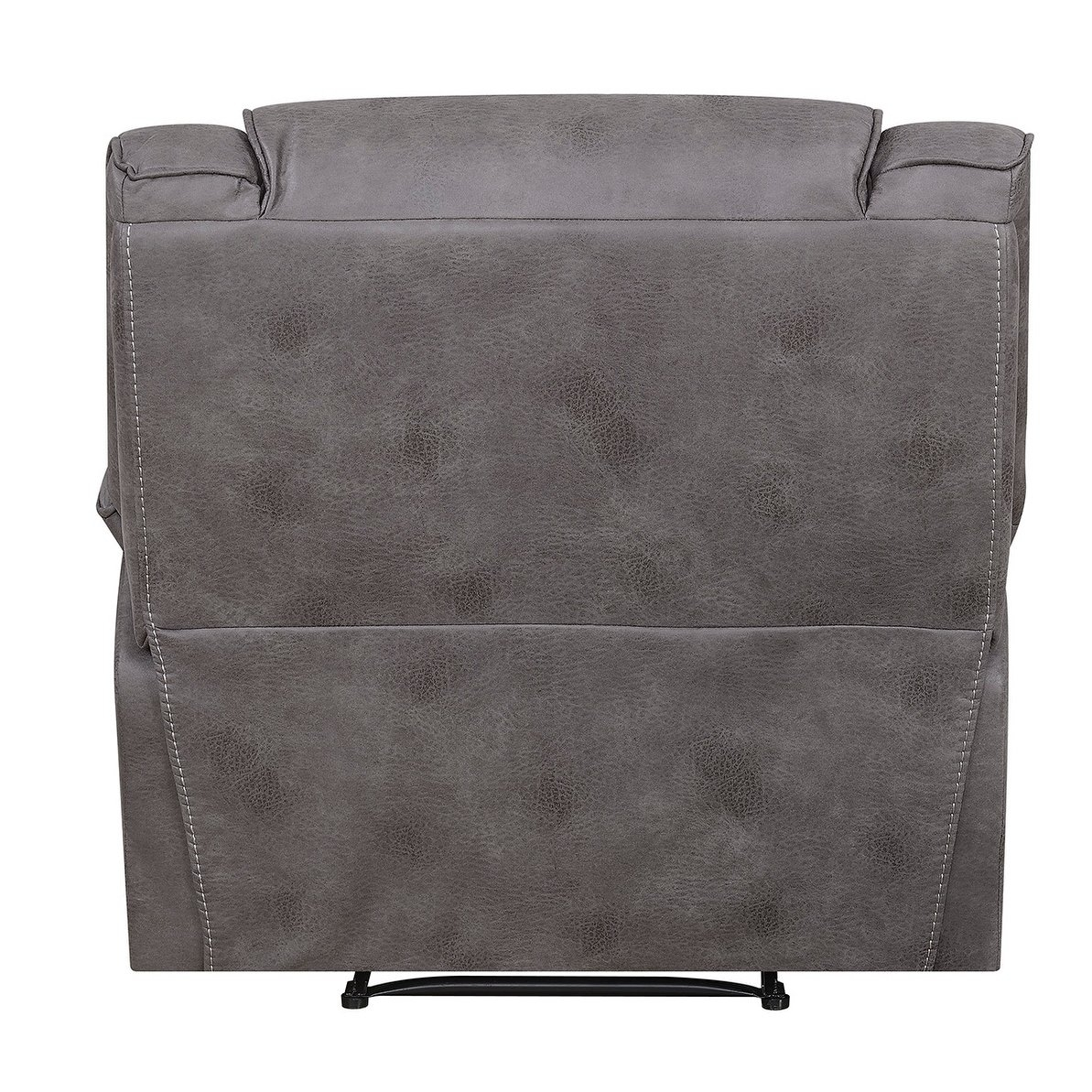 Shop Dylan Power Recliner With Memory Foam Seat Topper And Usb throughout Travis Dk Grey Leather 6 Piece Power Reclining Sectionals With Power Headrest & Usb (Image 22 of 30)