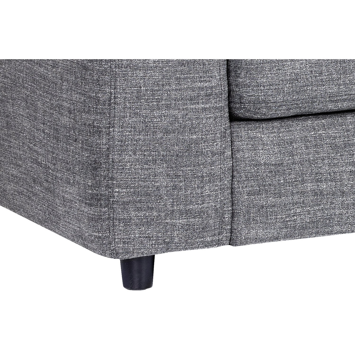 Shop Ethan Grey Sofa - On Sale - Free Shipping Today - Overstock within Egan Ii Cement Sofa Sectionals With Reversible Chaise (Image 23 of 30)