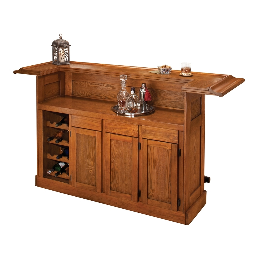 Shop Hillsdale Furniture Classic 78-In X 42.75-In Oak (Composite pertaining to Natural Oak Wood 78 Inch Sideboards (Image 21 of 30)