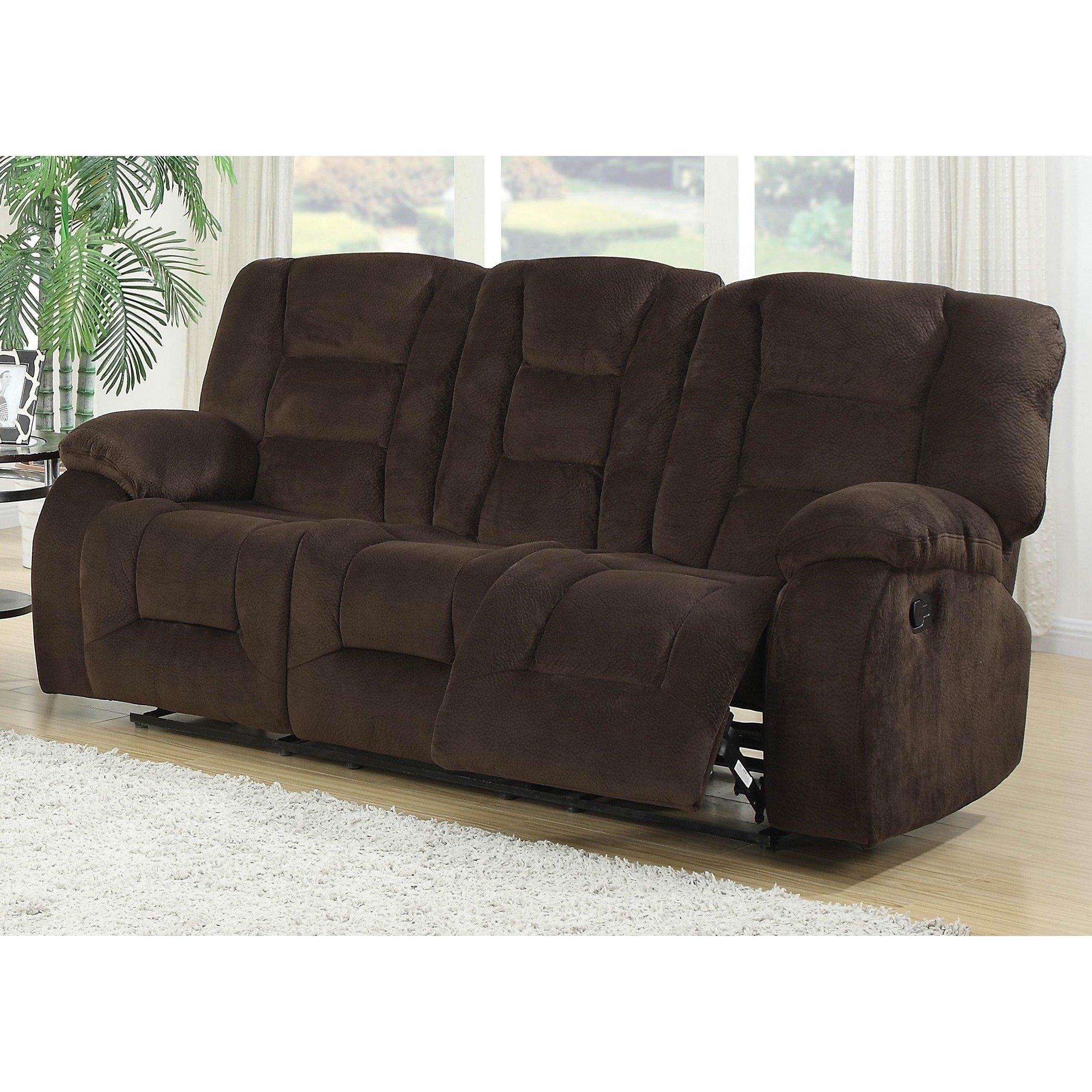 Shop Jackson Dual Reclining Sofa - Free Shipping Today - Overstock regarding Jackson 6 Piece Power Reclining Sectionals (Image 27 of 30)