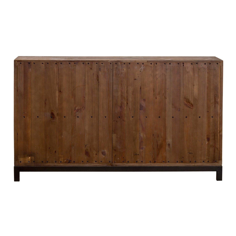 Shop Klamath Reclaimed Pine 3 Drawer 2 Door Sideboardkosas Home for Reclaimed Pine 4-Door Sideboards (Image 27 of 30)